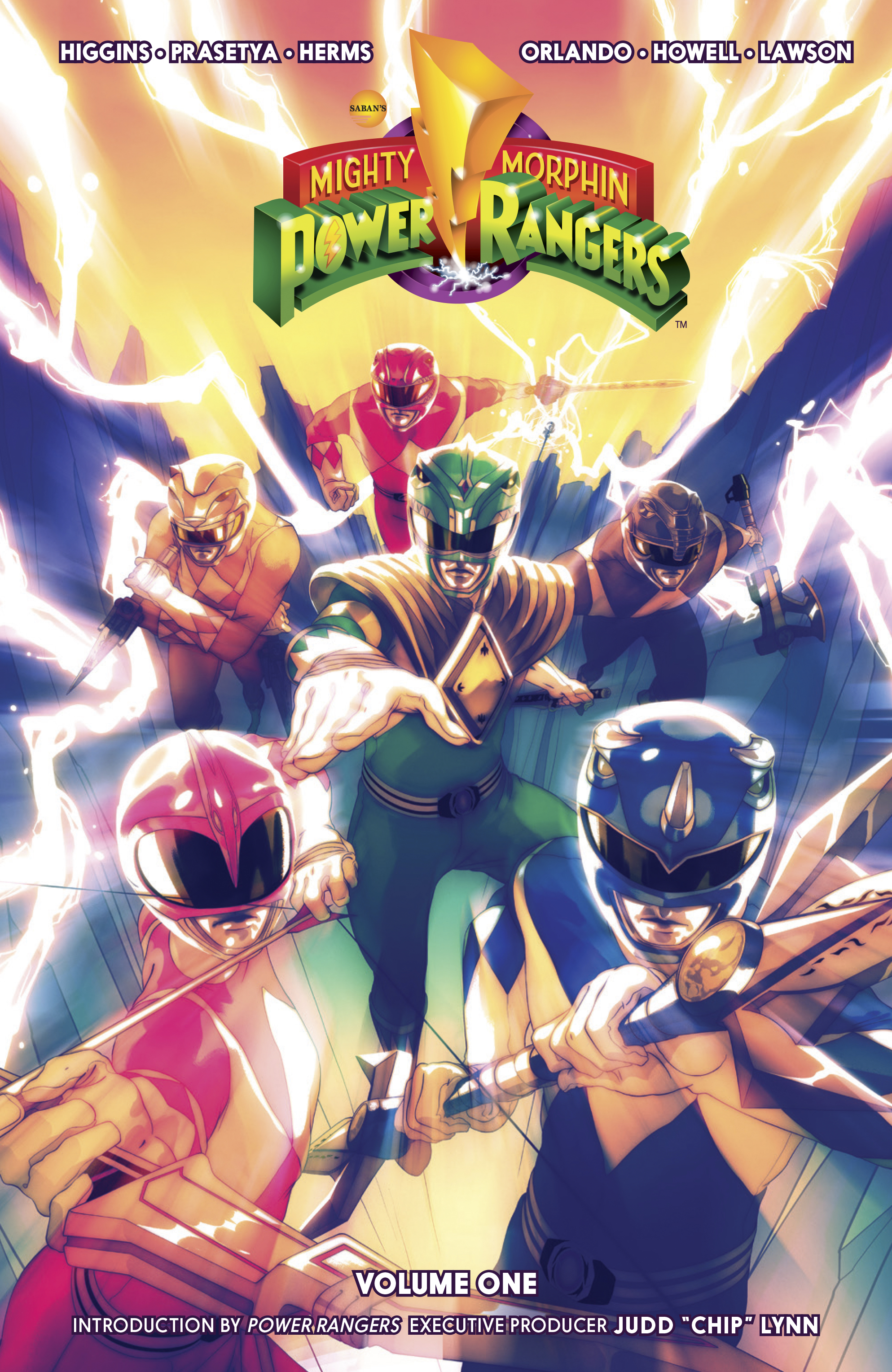 MIGHTY MORPHIN POWER RANGERS TP VOL 01