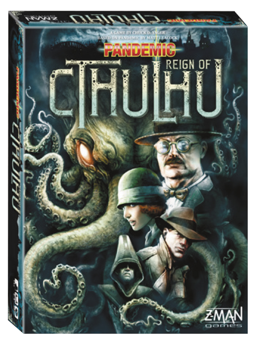 PANDEMIC REIGN OF CTHULHU EDITION BOARD GAME