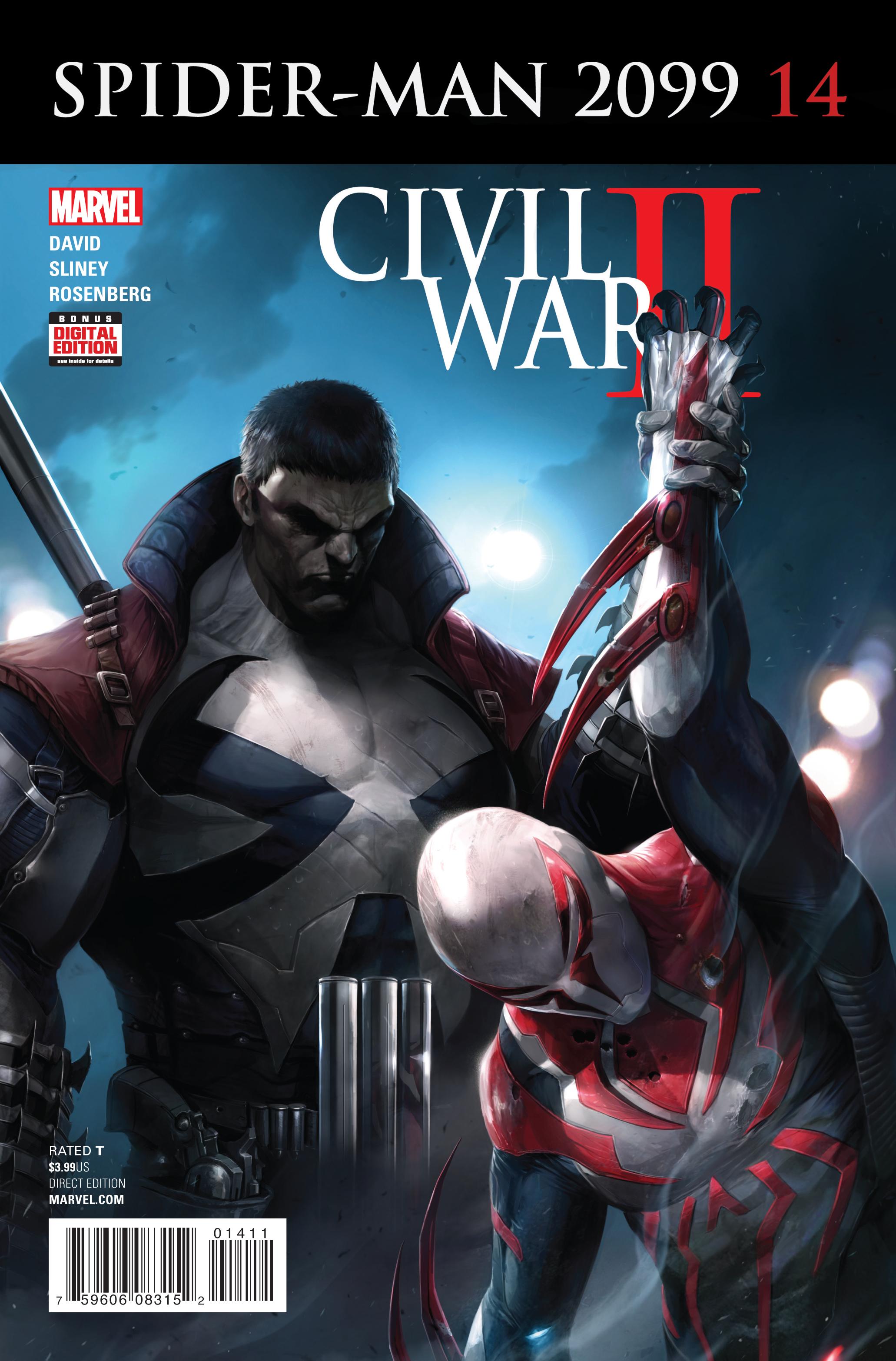 SPIDER-MAN 2099 #14 CW2