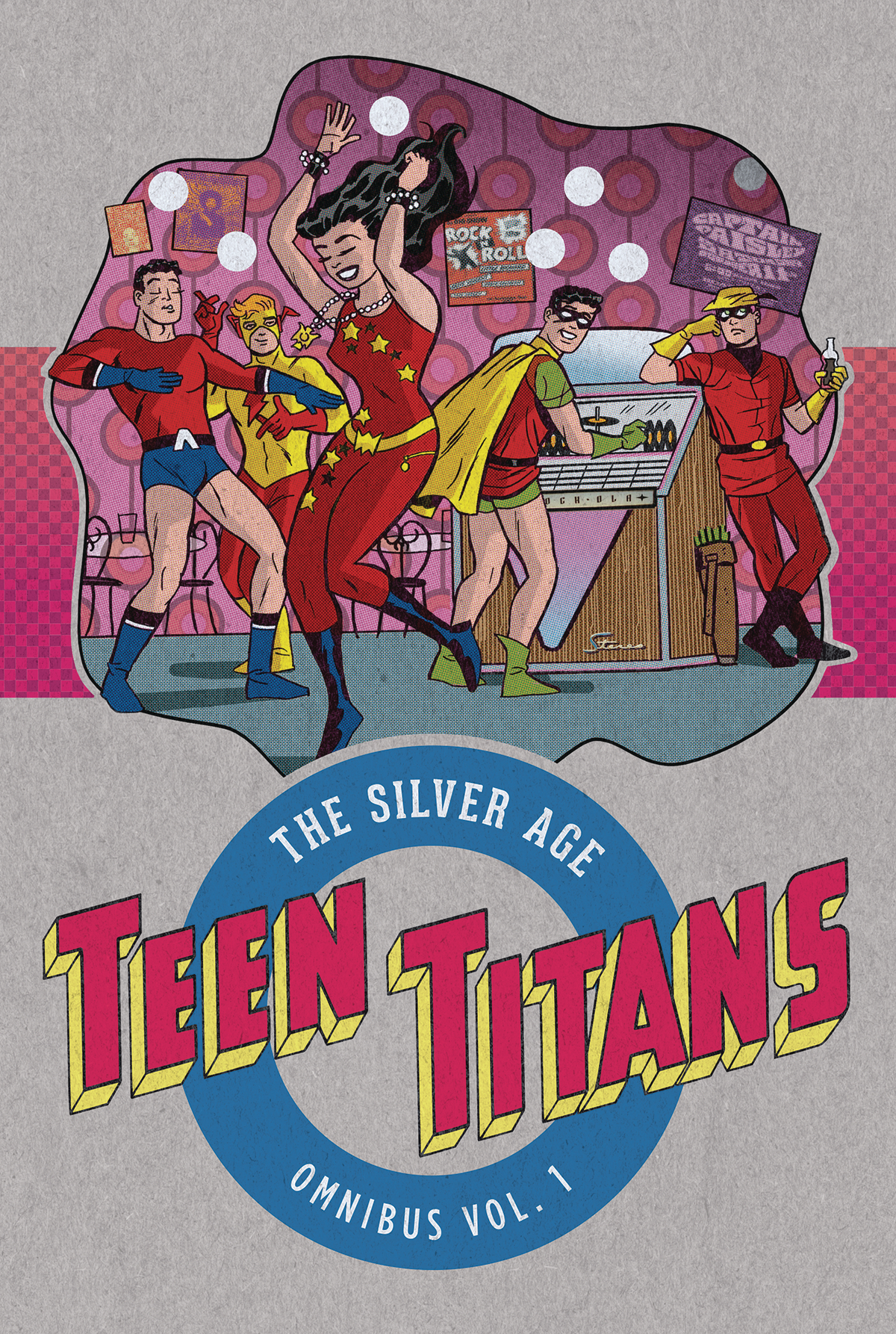 TEEN TITANS THE SILVER AGE OMNIBUS HC VOL 01