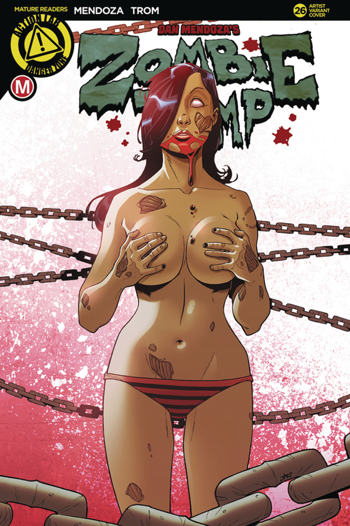 ZOMBIE TRAMP ONGOING #26 CVR E PEKAR (MR)