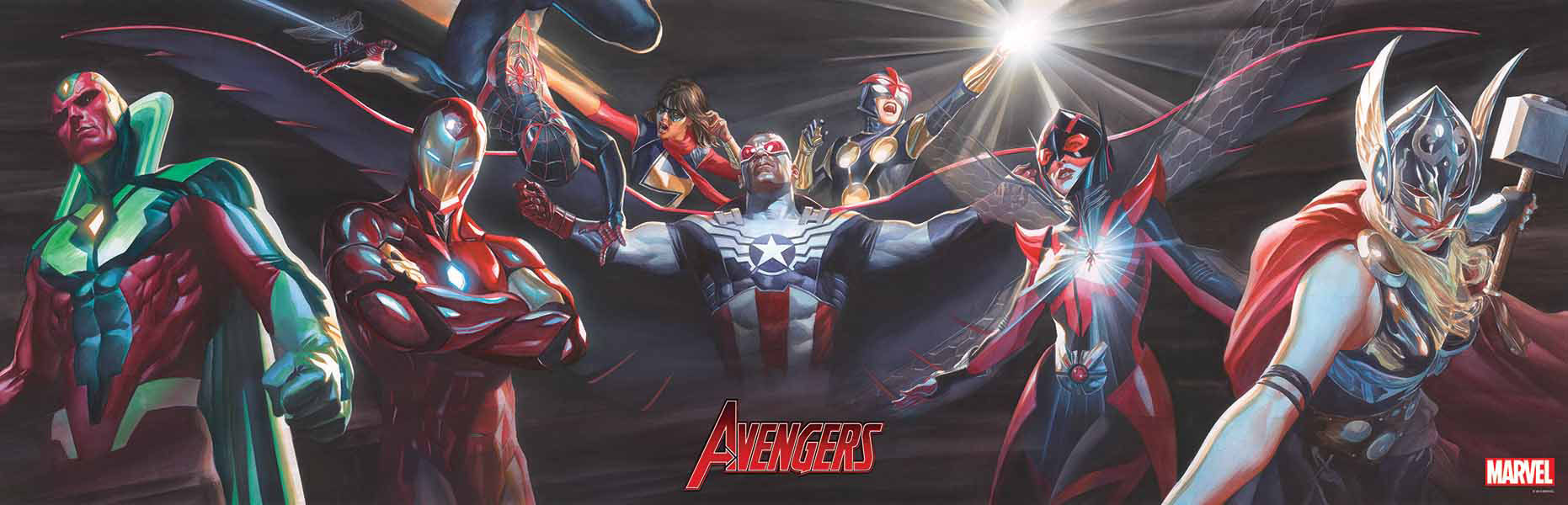 Jun160988 Linking Avengers Covers 1 5 By Alex Ross