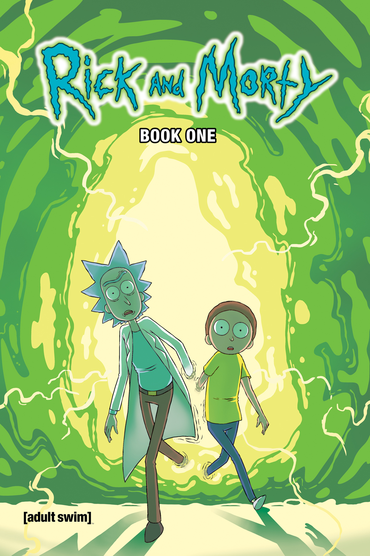 RICK AND MORTY HC BOOK 01 DLX ED