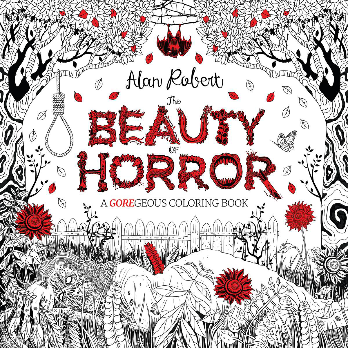 JUL160659 - BEAUTY OF HORROR GOREGEOUS COLORING BOOK TP ...