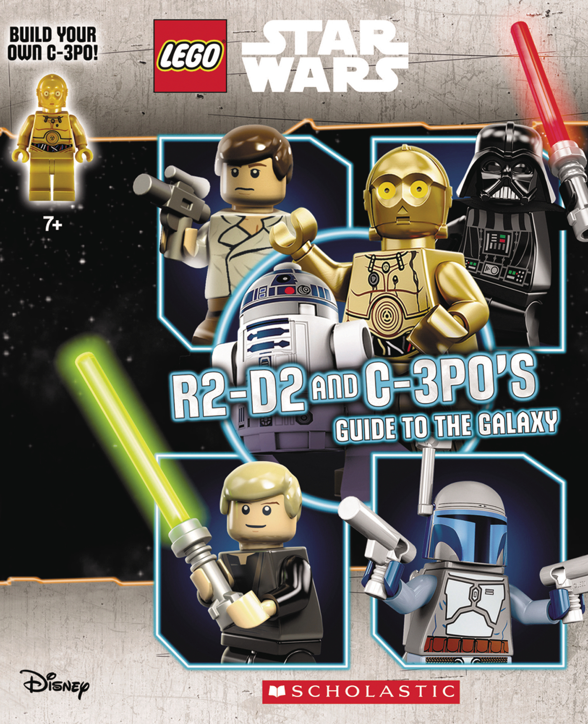 LEGO STAR WARS R2 D2 & C-3P0S GUIDE TO GALAXY HC