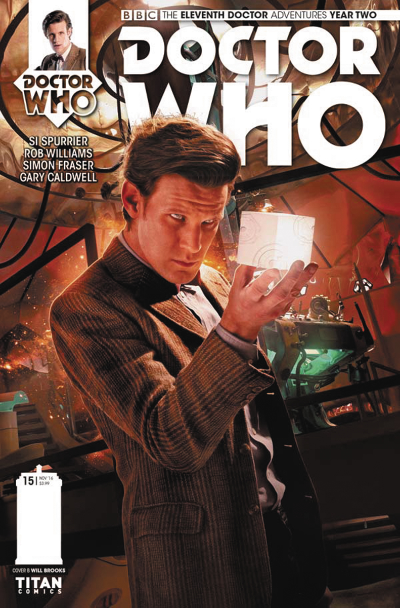 DOCTOR WHO 11TH YEAR TWO #15 CVR B PHOTO