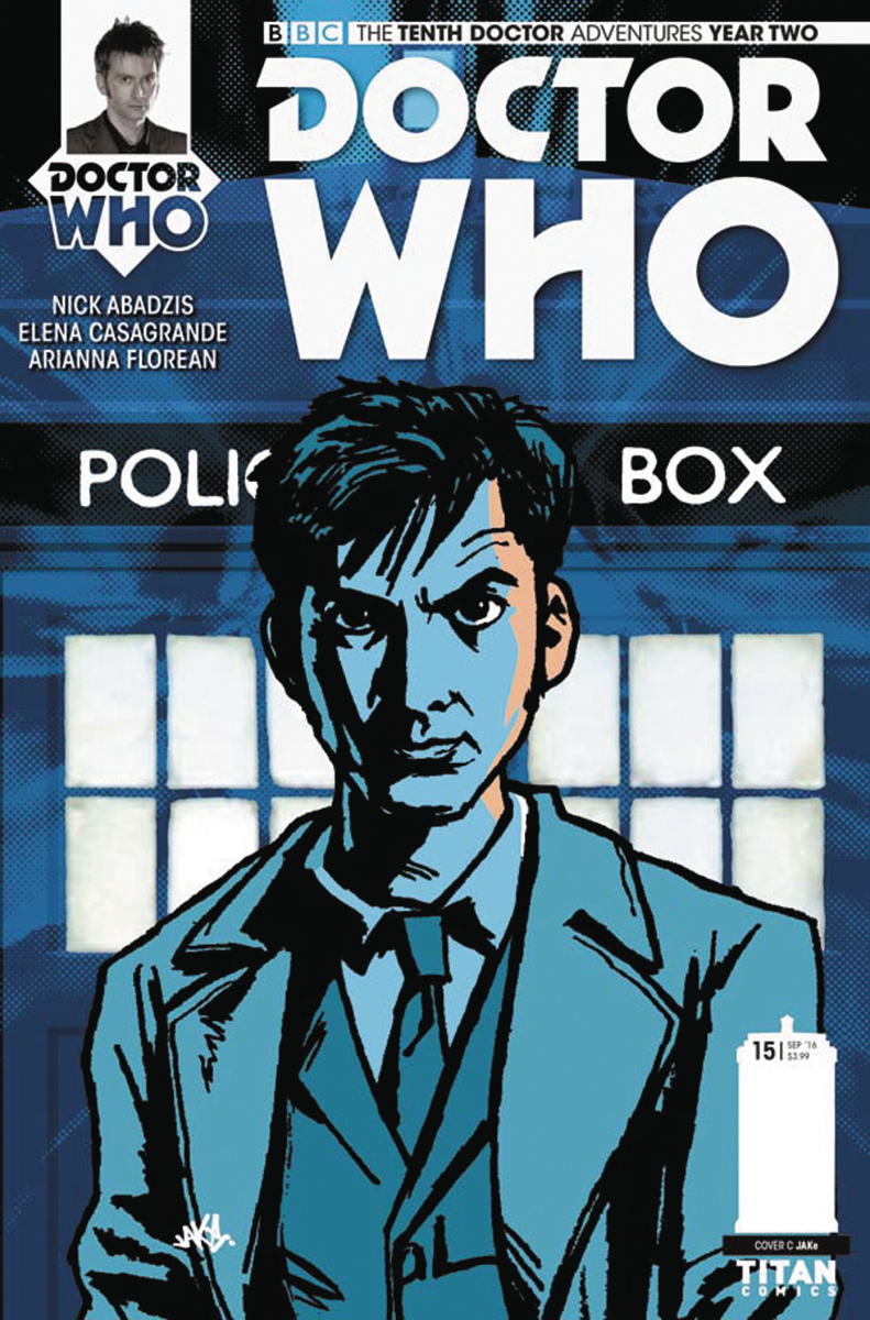 DOCTOR WHO 10TH YEAR TWO #15 CVR C JAKE