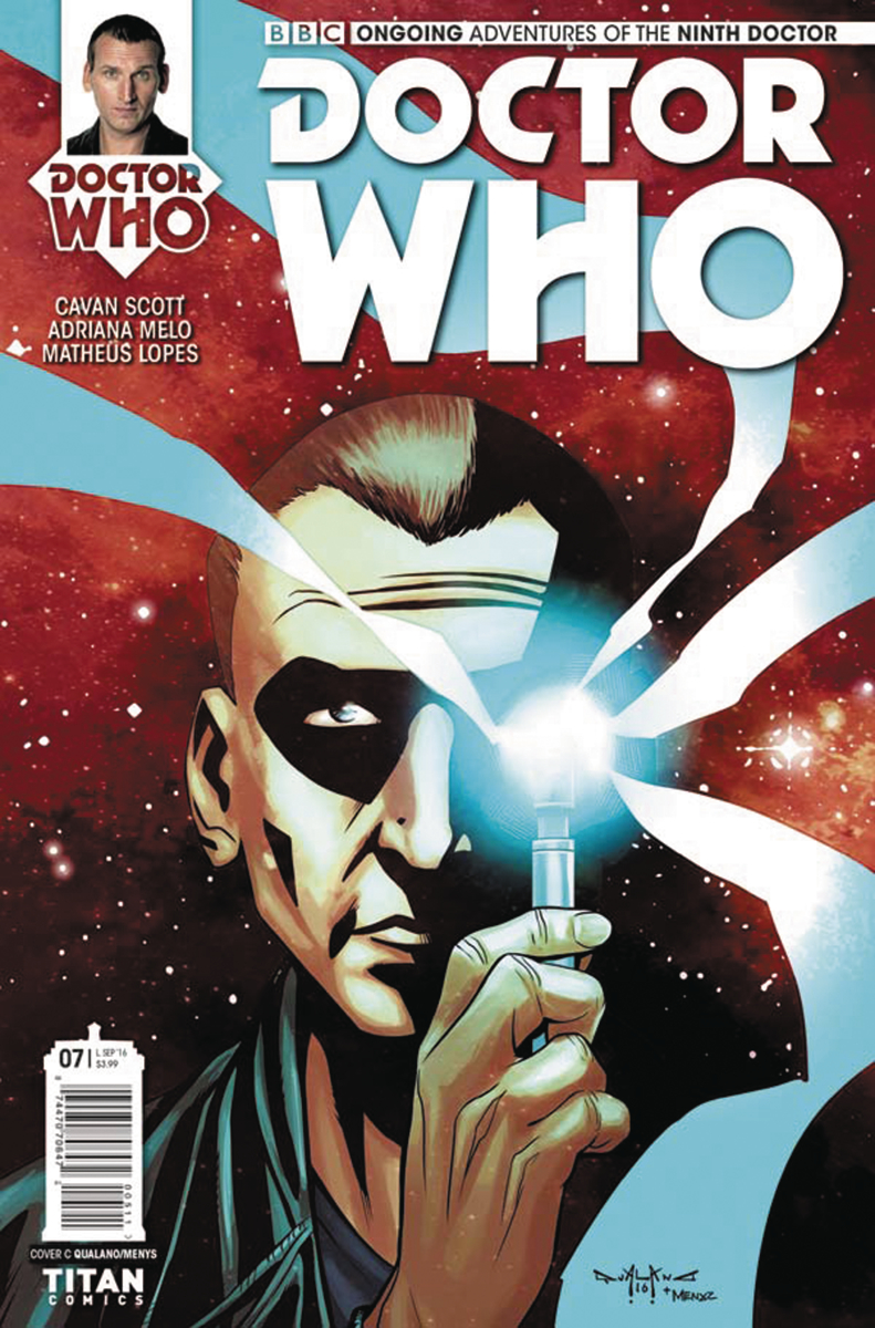 DOCTOR WHO 9TH #7 CVR C QUALANO
