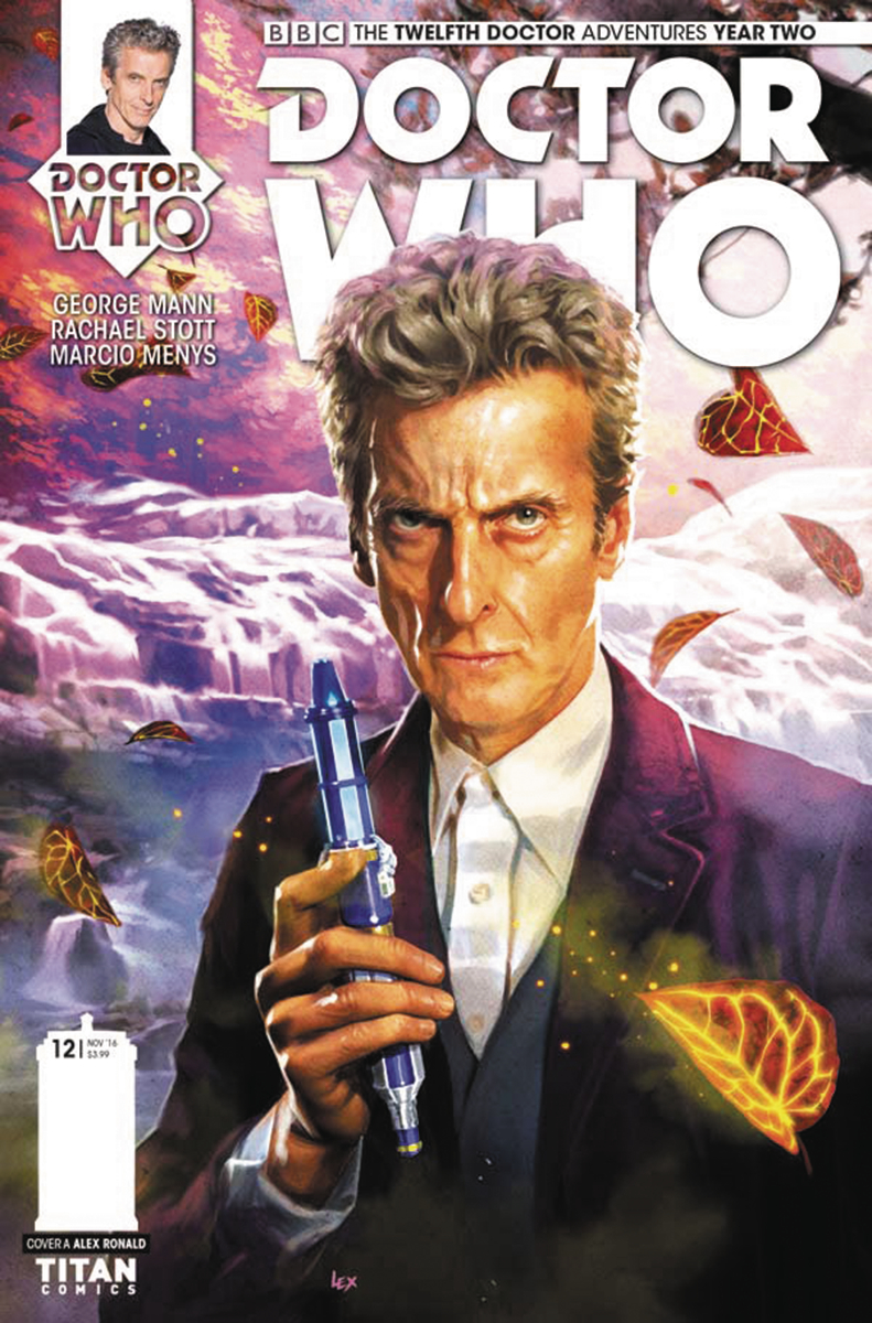 DOCTOR WHO 12TH YEAR TWO #12 CVR A RONALD