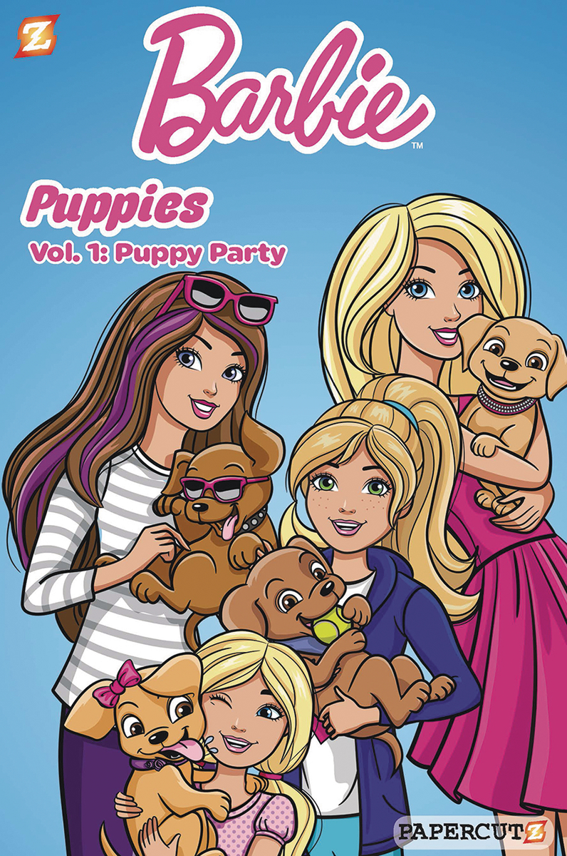 BARBIE PUPPIES HC VOL 01 PUPPY PARTY