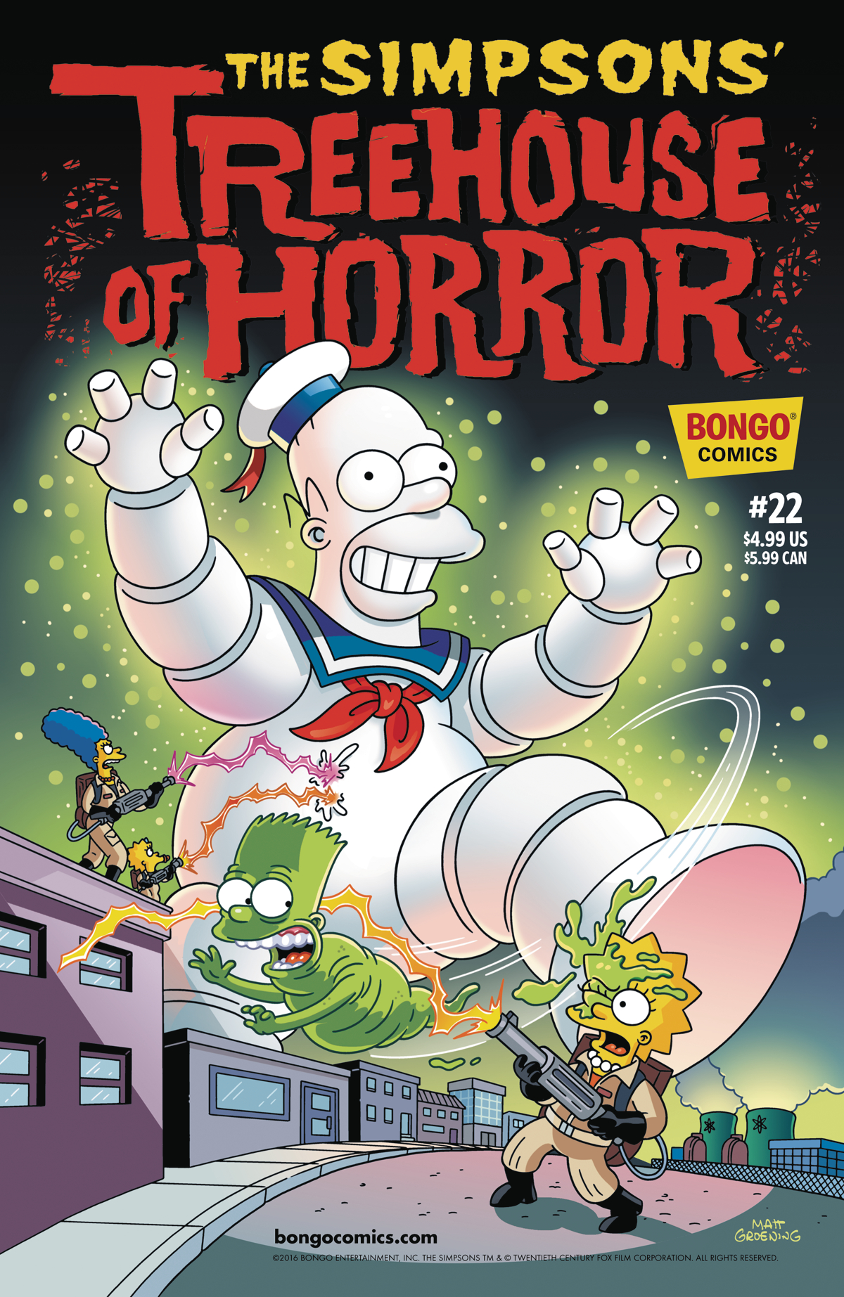 SIMPSONS TREEHOUSE OF HORROR #22