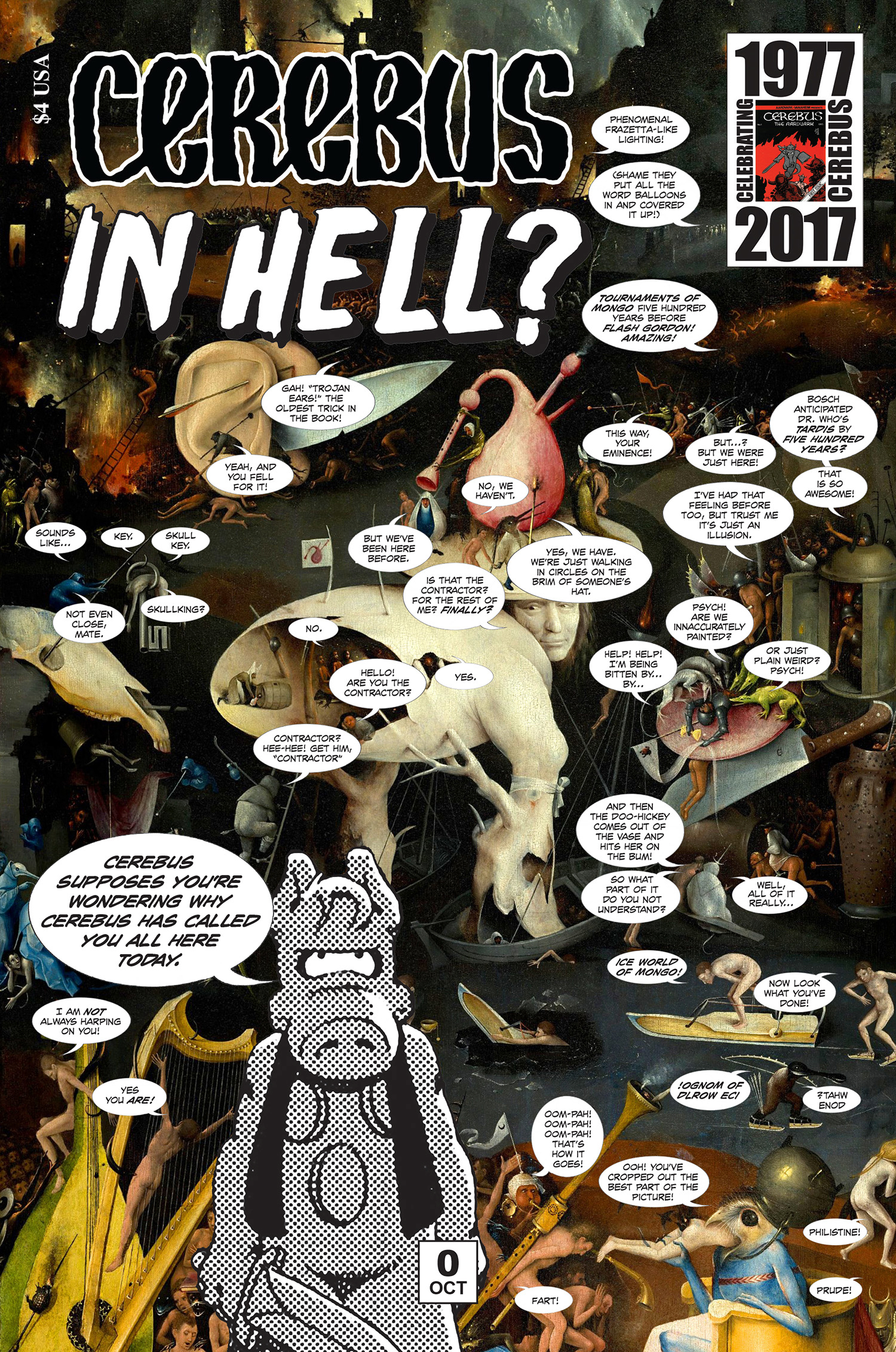 CEREBUS IN HELL #0