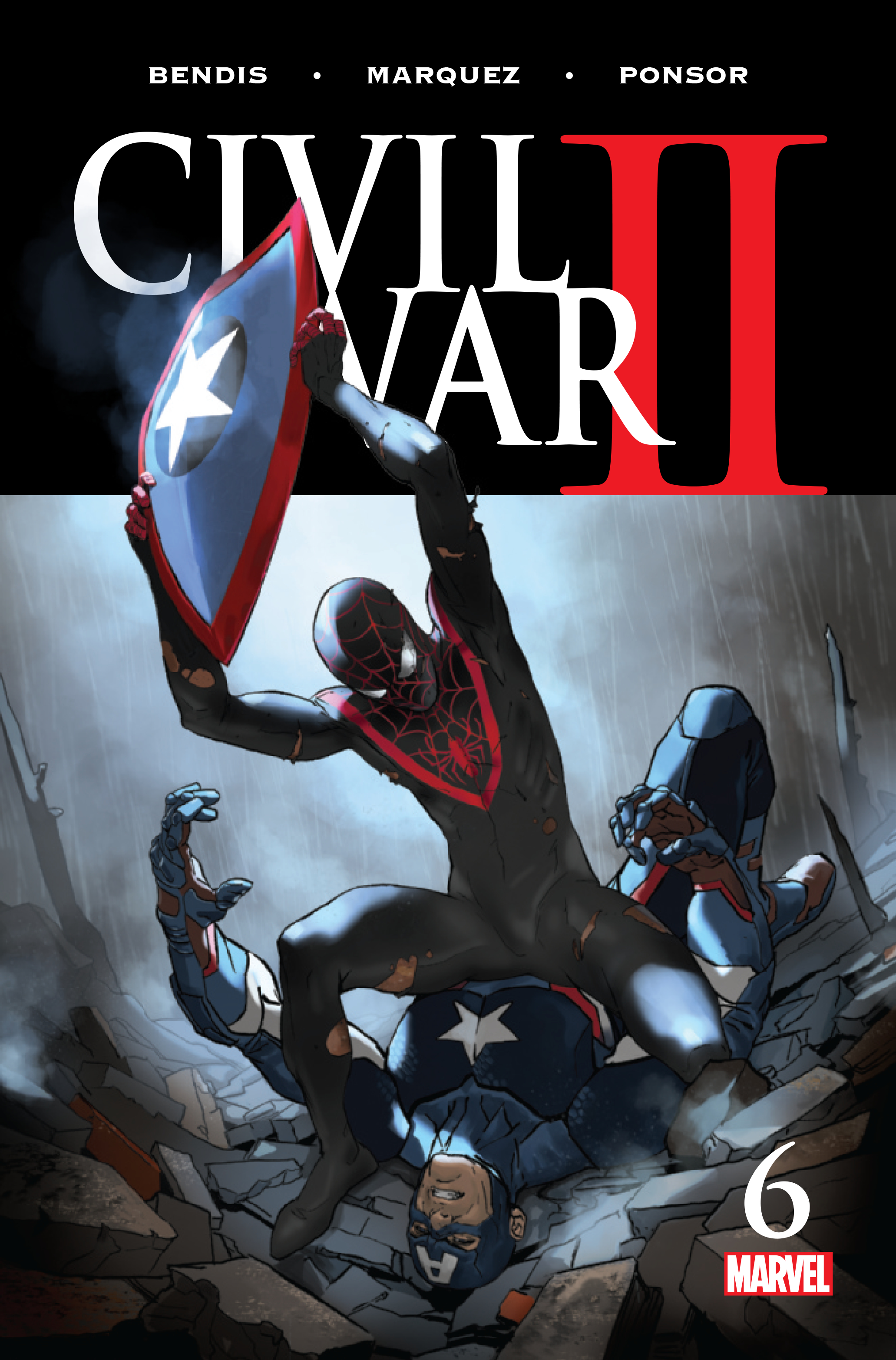 CIVIL WAR II #6 (OF 8)