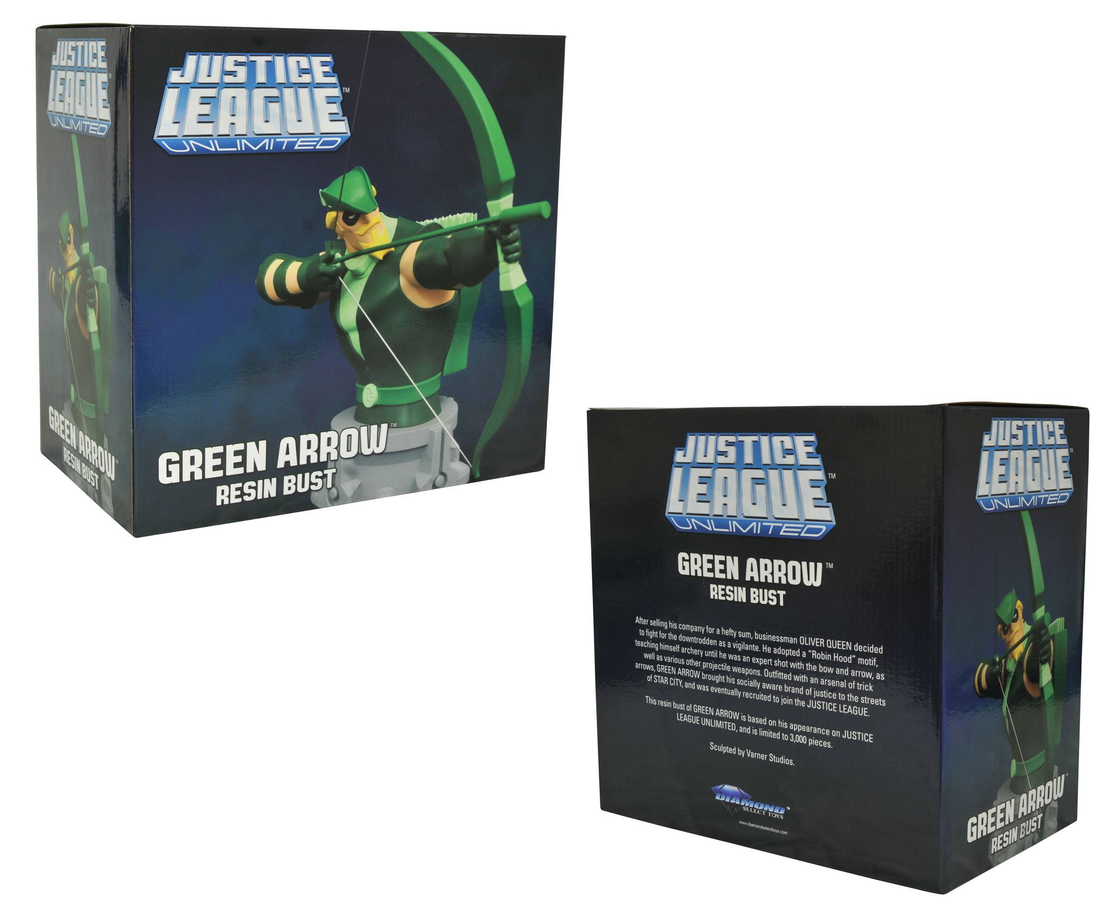 JLA TAS GREEN ARROW BUST