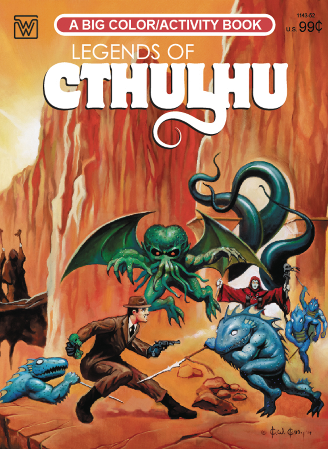 JUL162931 - LEGENDS OF CTHULHU COLORING BOOK - Previews World