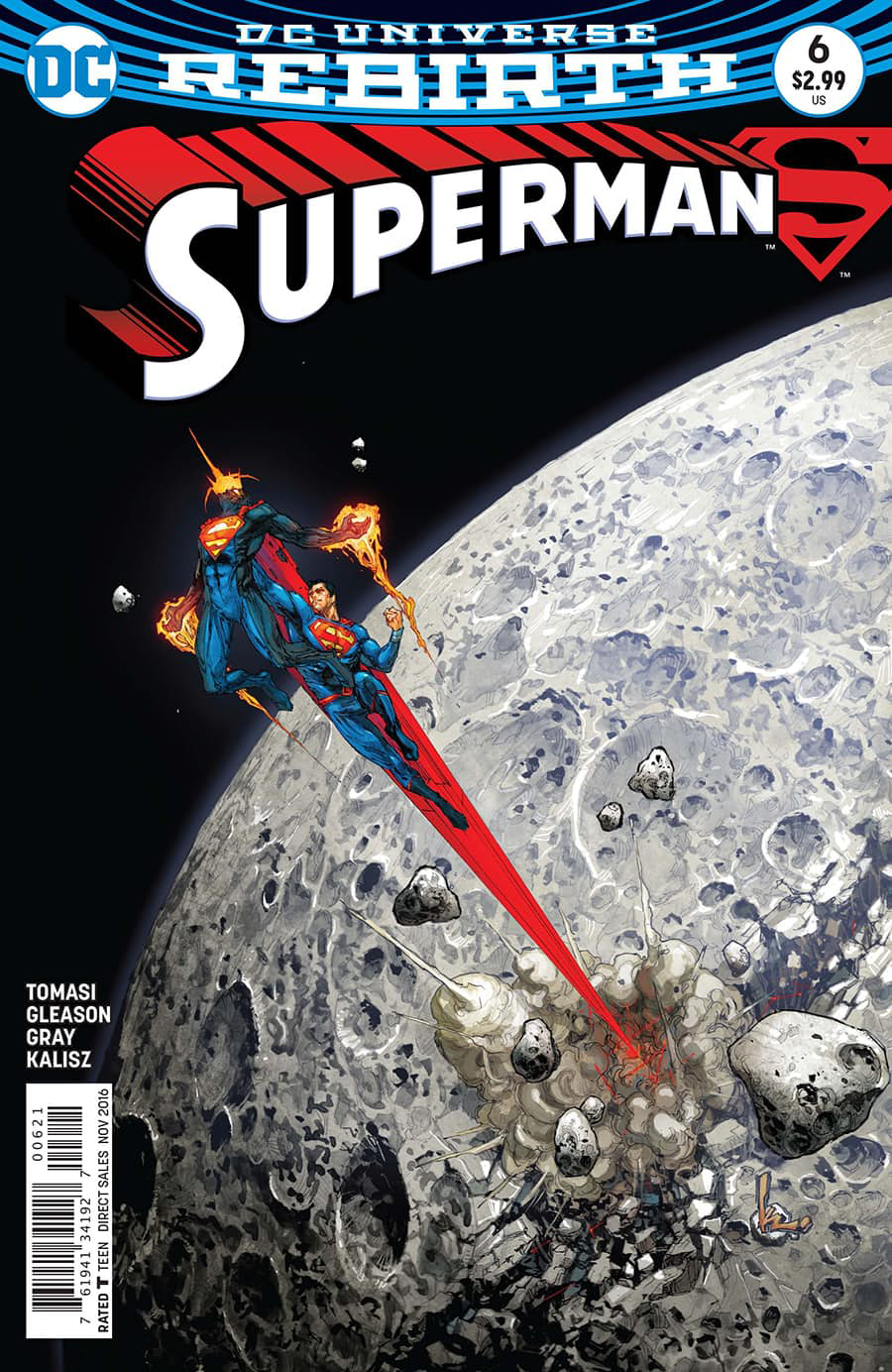 SUPERMAN #6 VAR ED