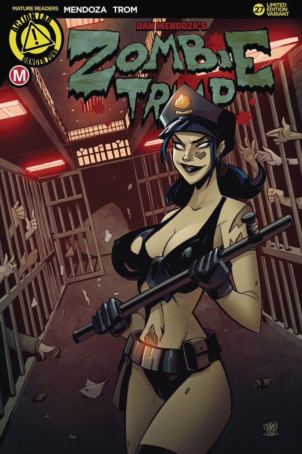 ZOMBIE TRAMP ONGOING #27 CVR C CAGED HEAT (MR)
