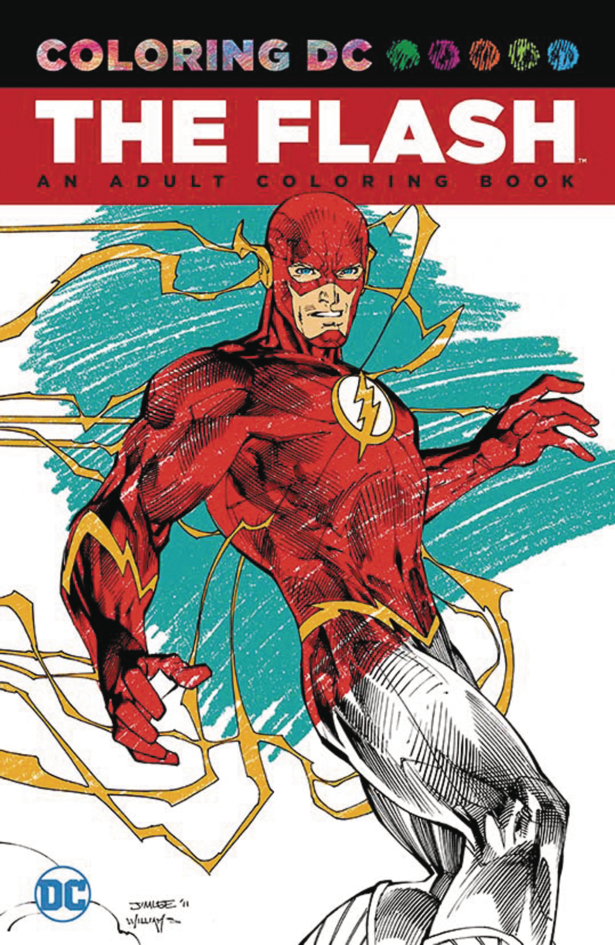 JUL160402 - FLASH AN ADULT COLORING BOOK TP - Previews World