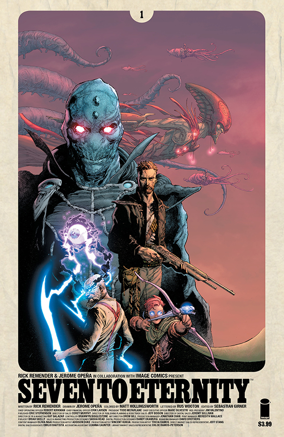 SEVEN TO ETERNITY #1 CVR A OPENA & HOLLINGSWORTH (MR)