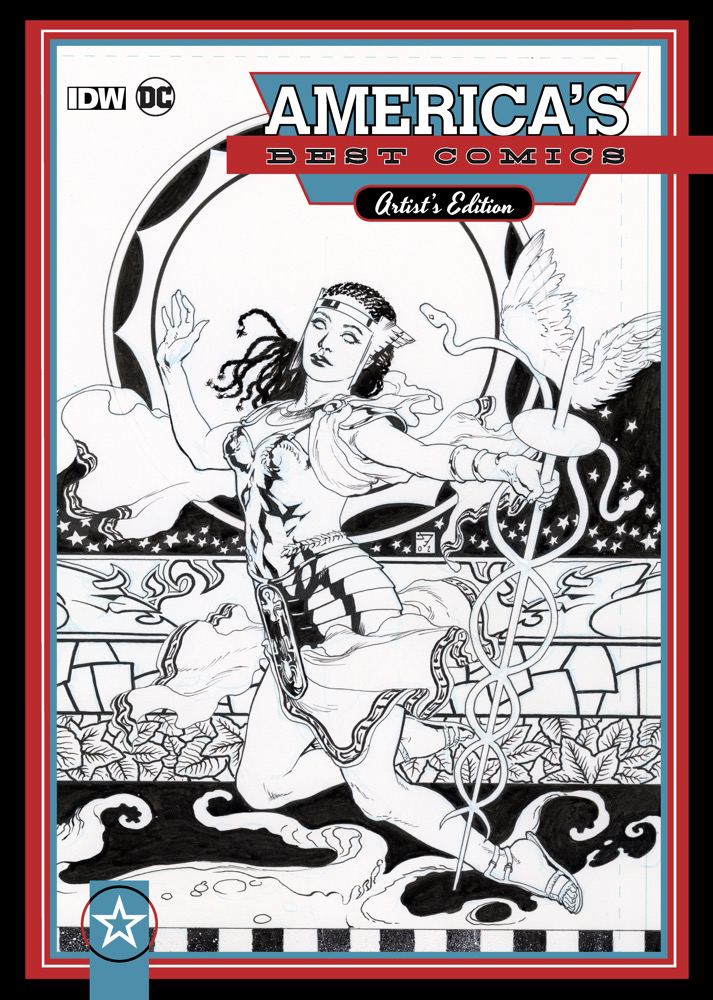 AMERICAS BEST COMICS ARTIST ED HC J.H. WILLIAMS III VAR (NET