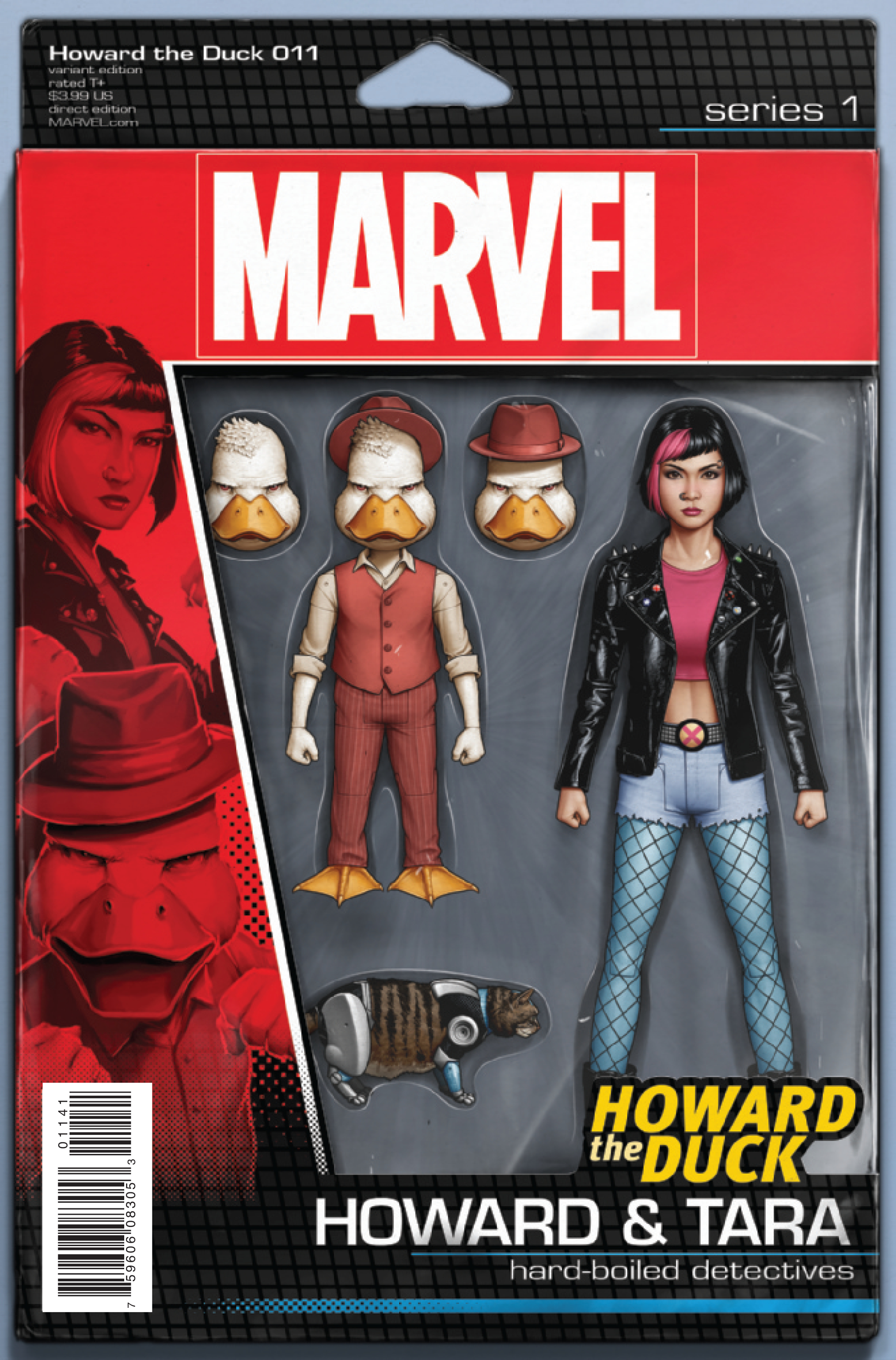 HOWARD THE DUCK #11 CHRISTOPHER ACTION FIGURE VAR