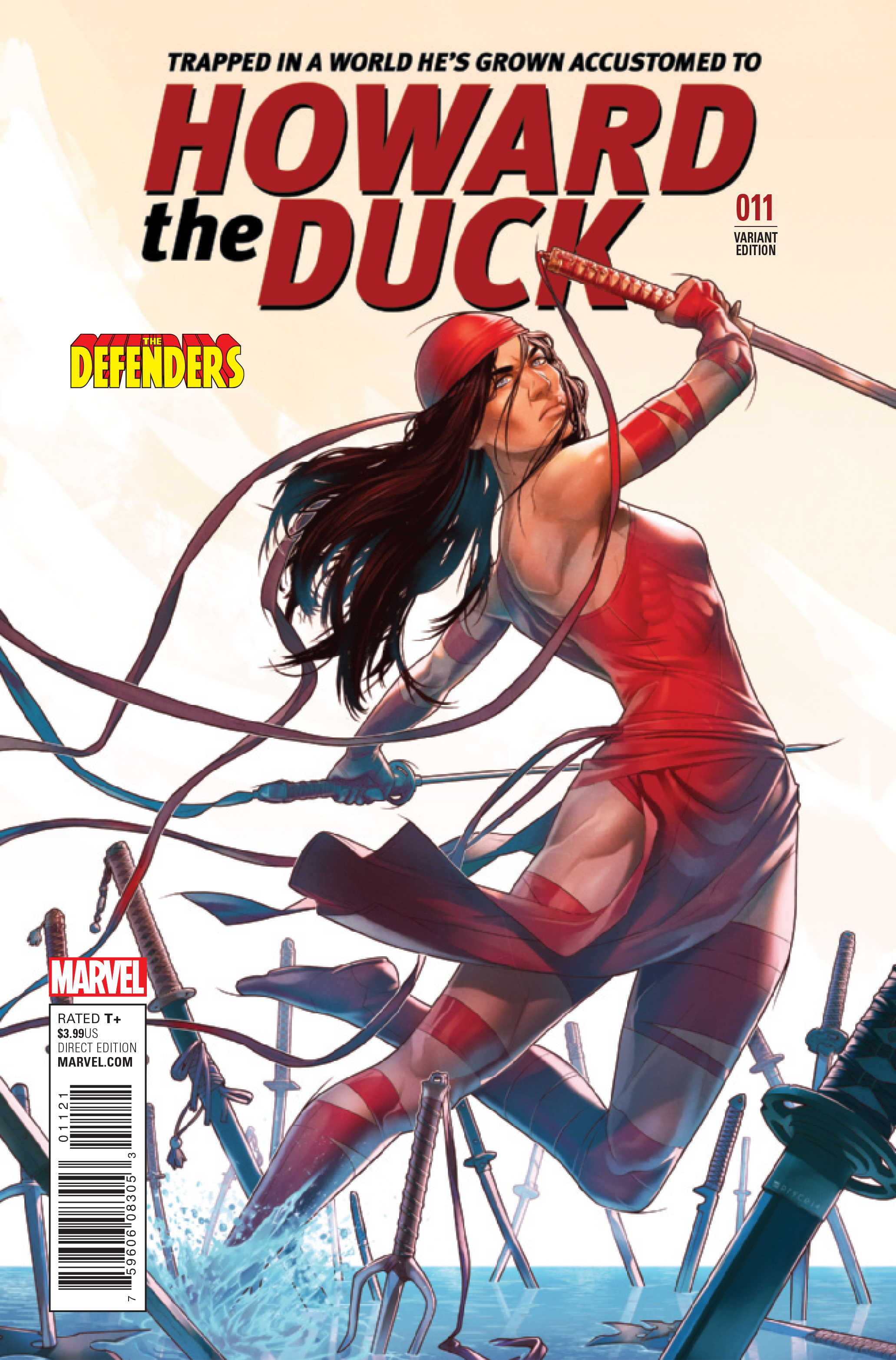 HOWARD THE DUCK #11 CAMPBELL DEFENDERS VAR