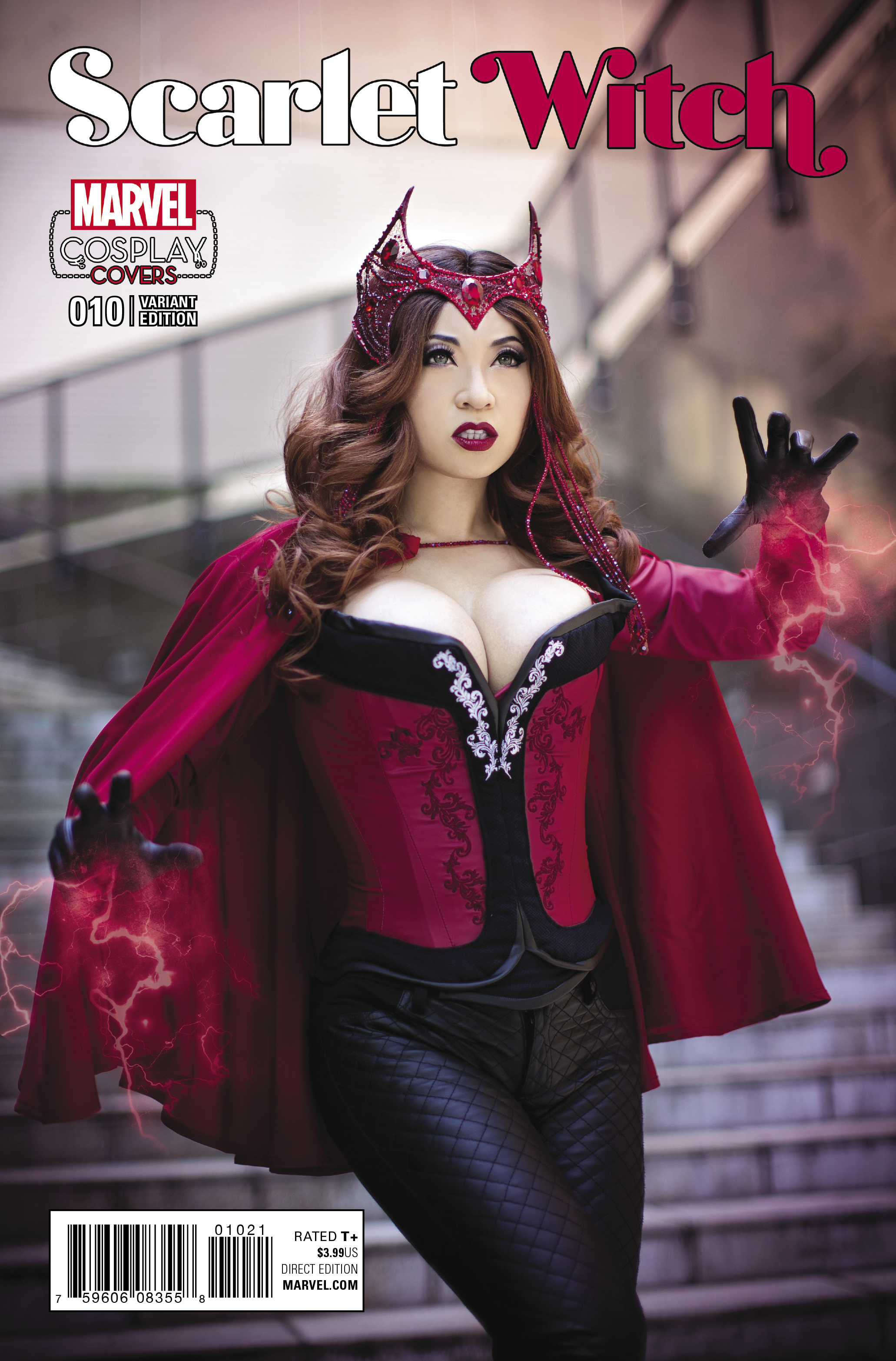 SCARLET WITCH #10 COSPLAY VAR