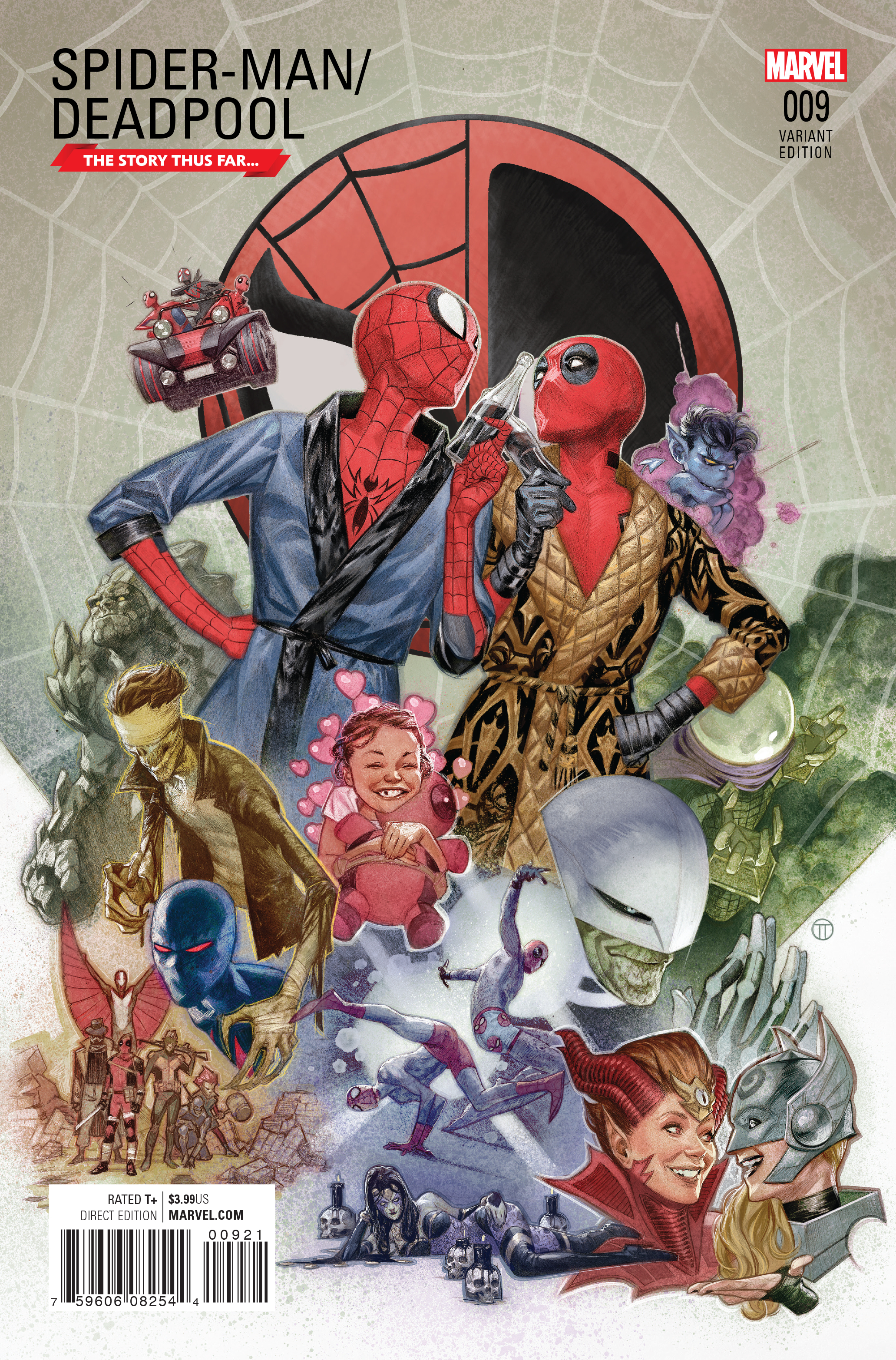 SPIDER-MAN DEADPOOL #9 TEDESCO STORY THUS FAR VAR