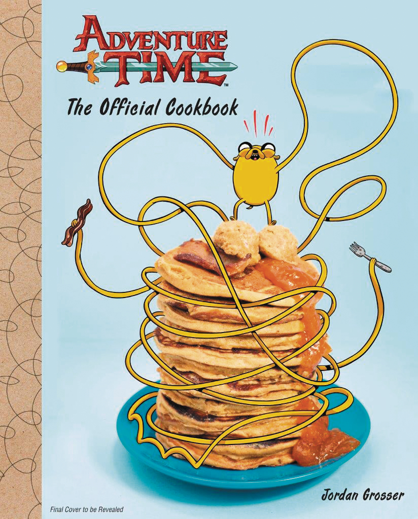 ADVENTURE TIME OFFICIAL COOKBOOK HC