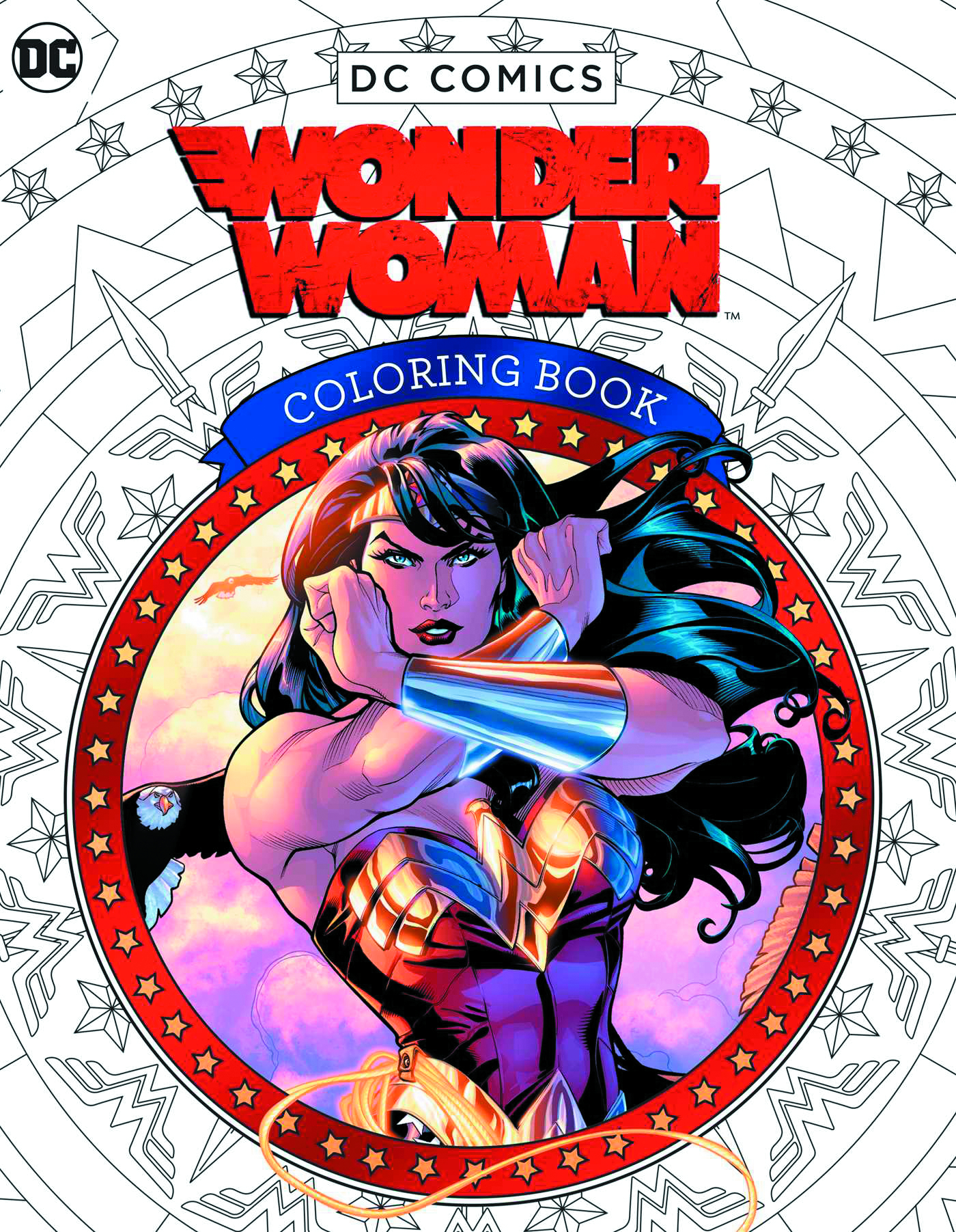 DC COMICS WONDER WOMAN COLORING BOOK SC