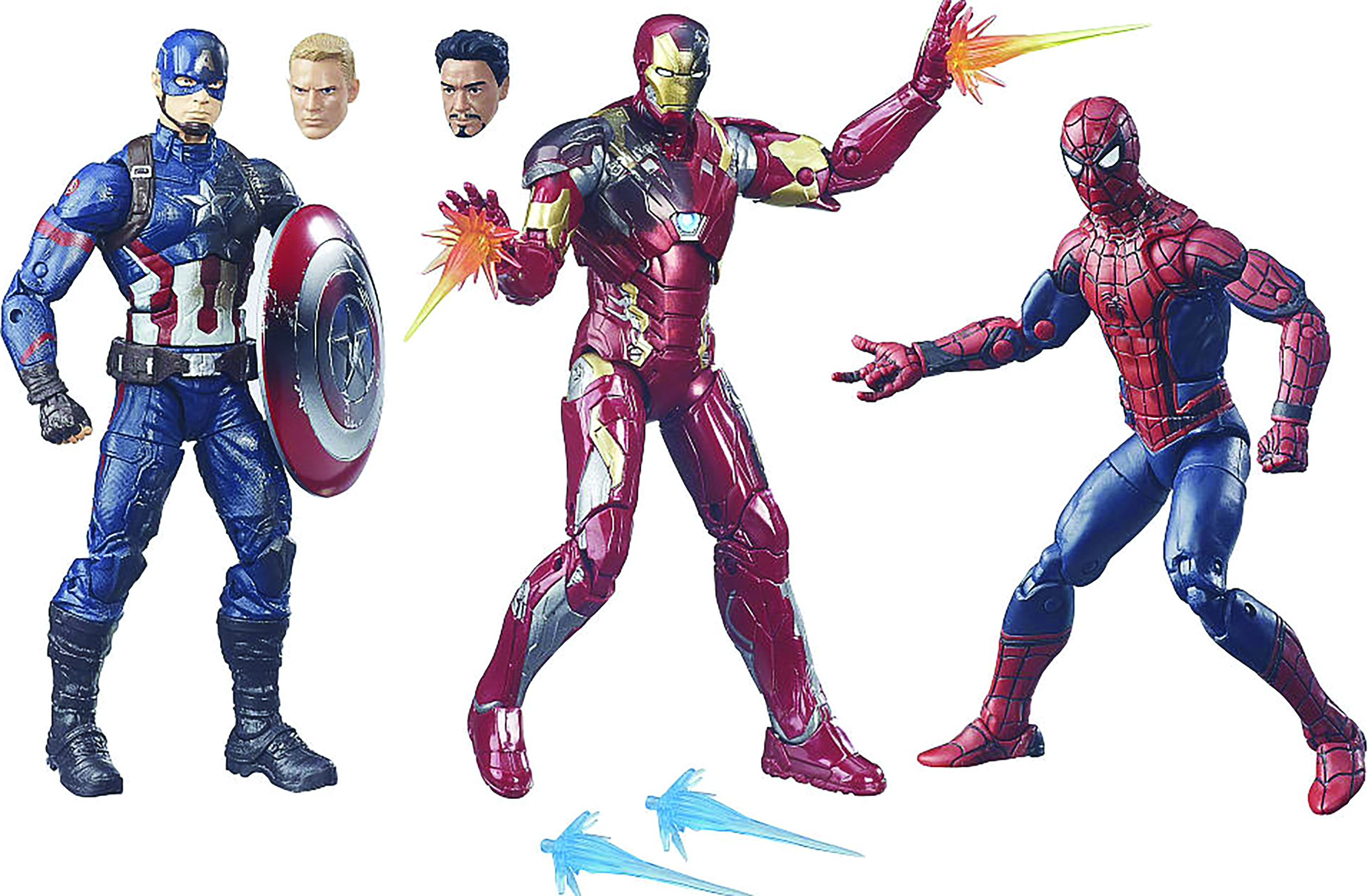 CAPTAIN AMERICA CW 6IN LEGENDS AF 3-PACK CS