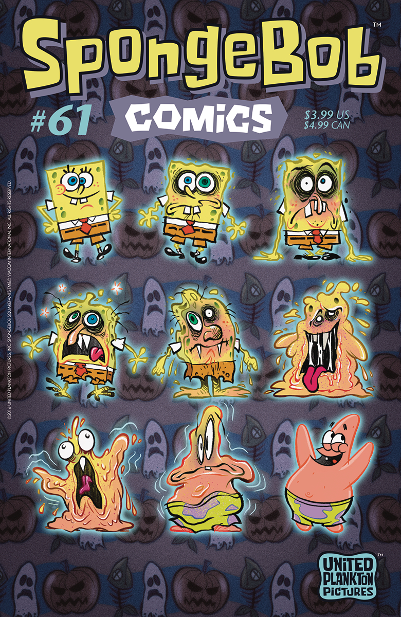 aug161296 spongebob comics 61 previews world