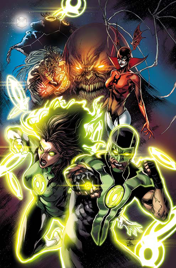 GREEN LANTERNS #1 2ND PTG