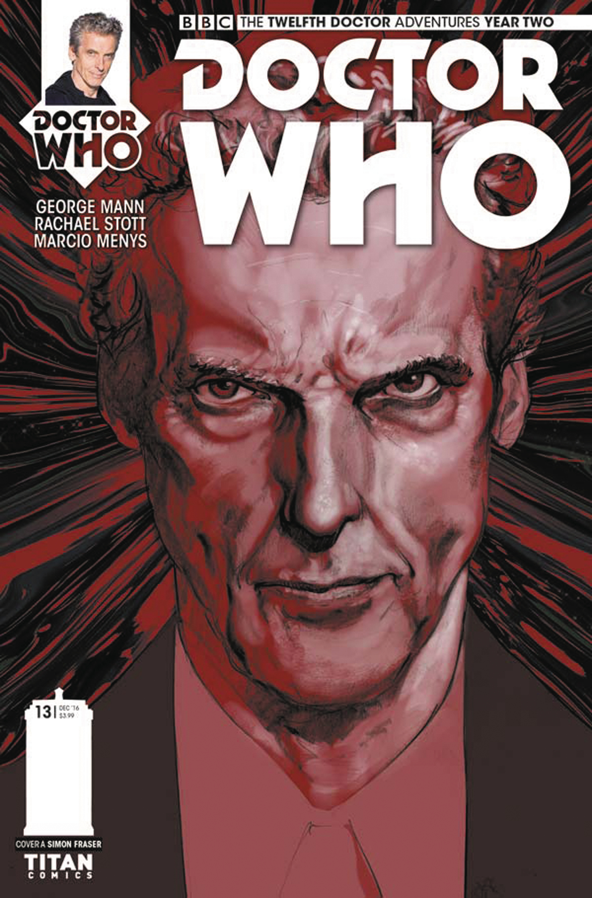DOCTOR WHO 12TH YEAR TWO #13 CVR A FRASER