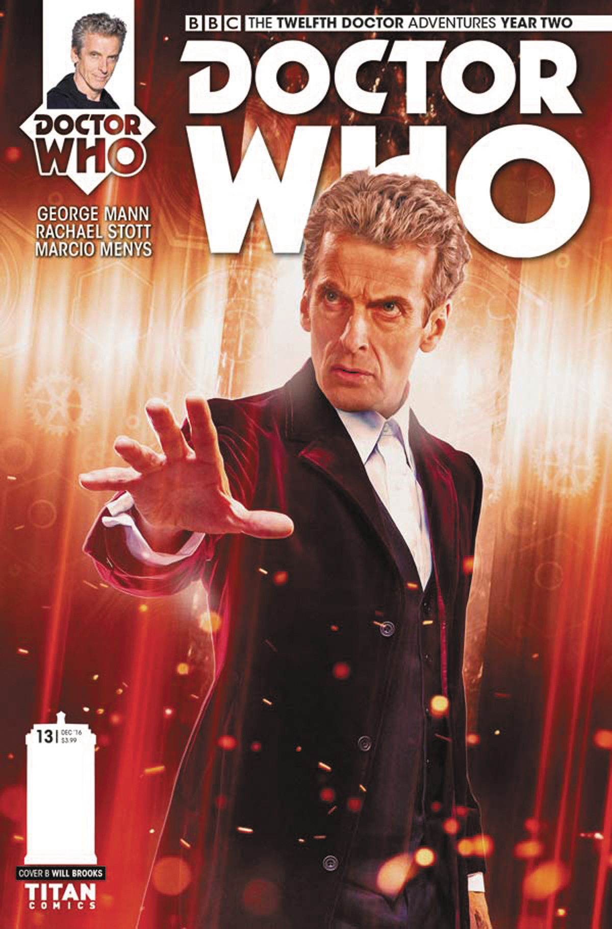 DOCTOR WHO 12TH YEAR TWO #13 CVR B PHOTO