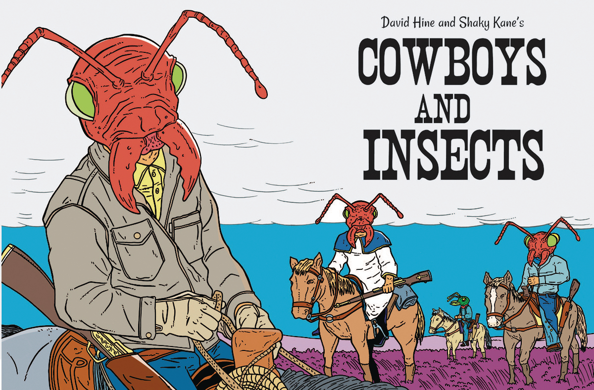 COWBOYS AND INSECTS ONE SHOT (MR)