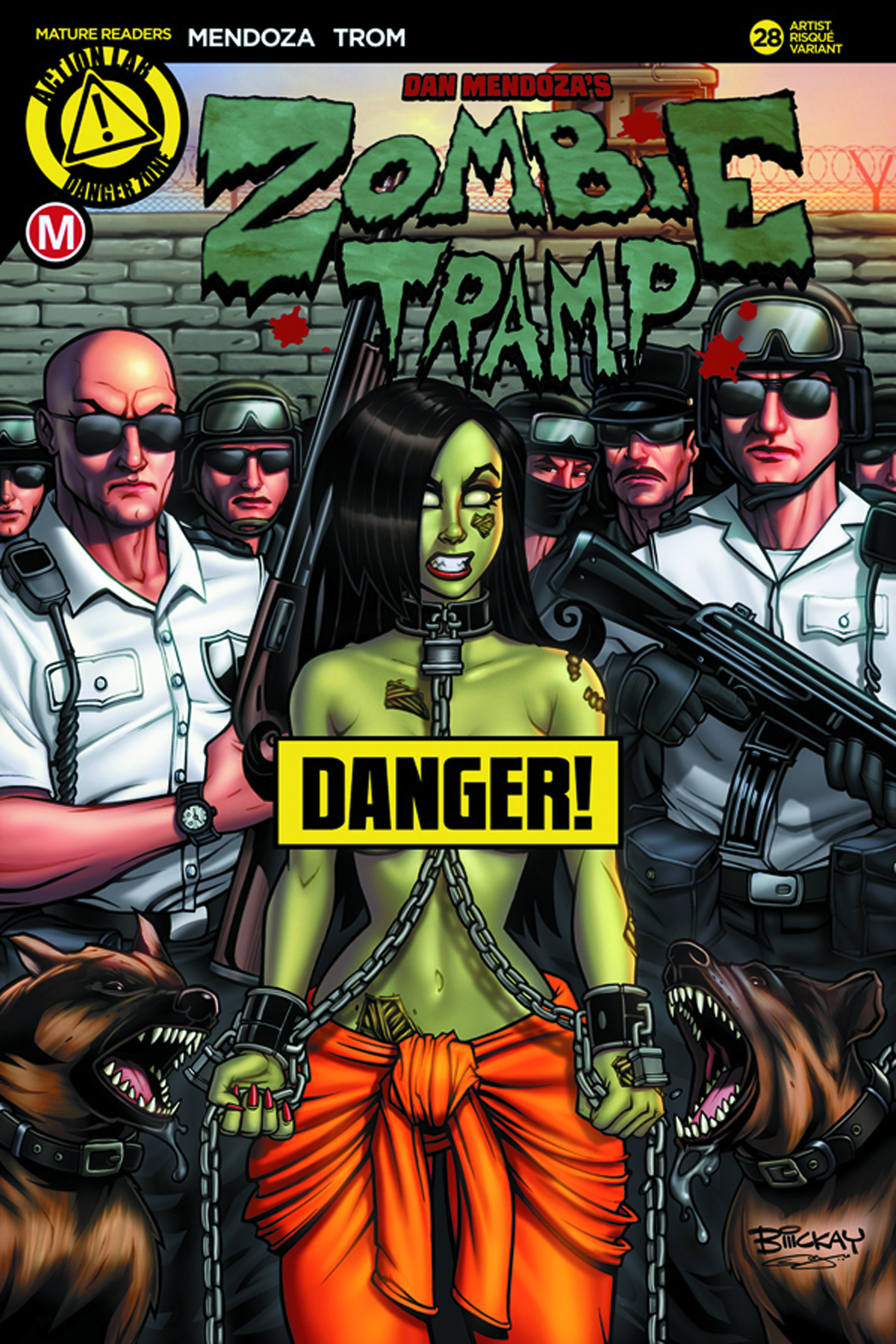 ZOMBIE TRAMP ONGOING #28 CVR F MCKAY RISQUE (MR)