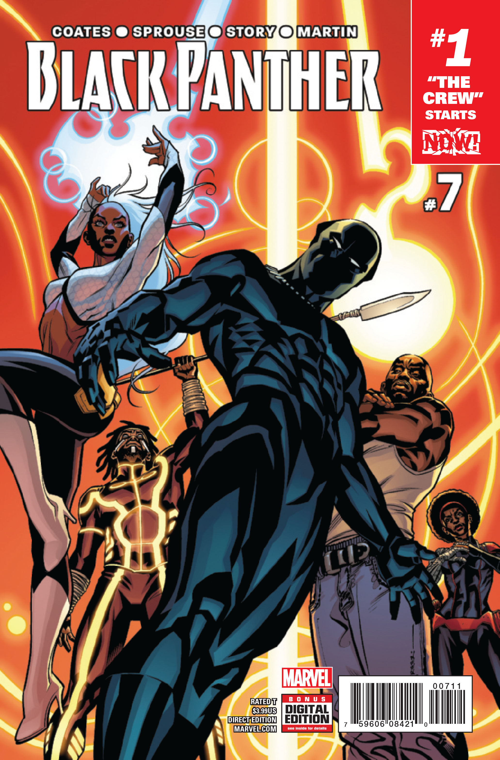 BLACK PANTHER #7 NOW