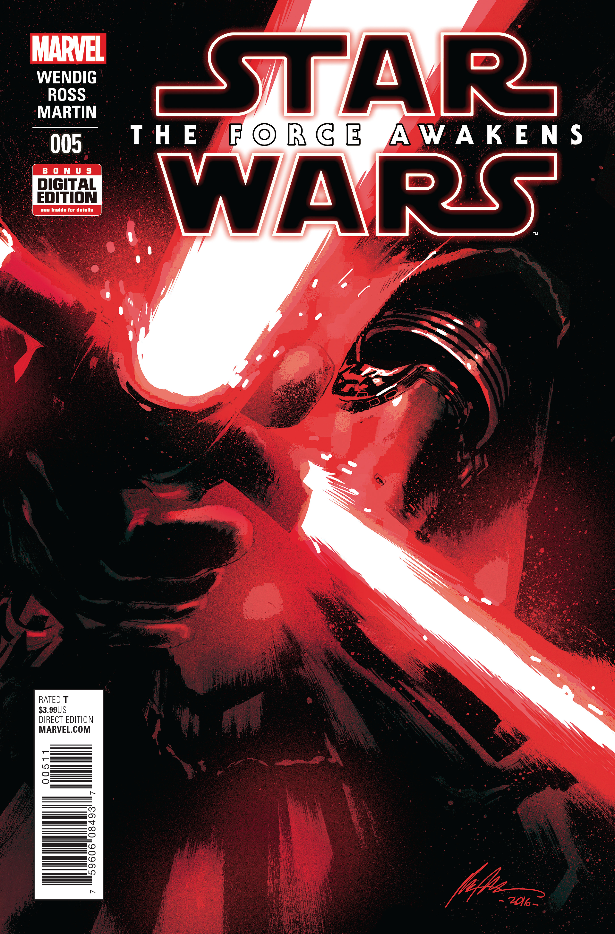 STAR WARS FORCE AWAKENS ADAPTATION #5 (OF 6)