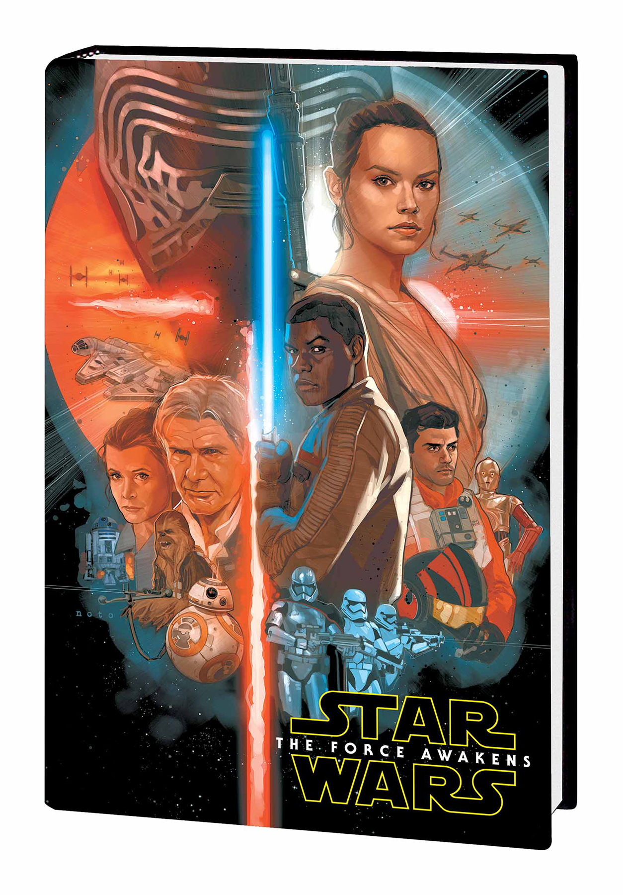 STAR WARS FORCE AWAKENS ADAPTATION HC