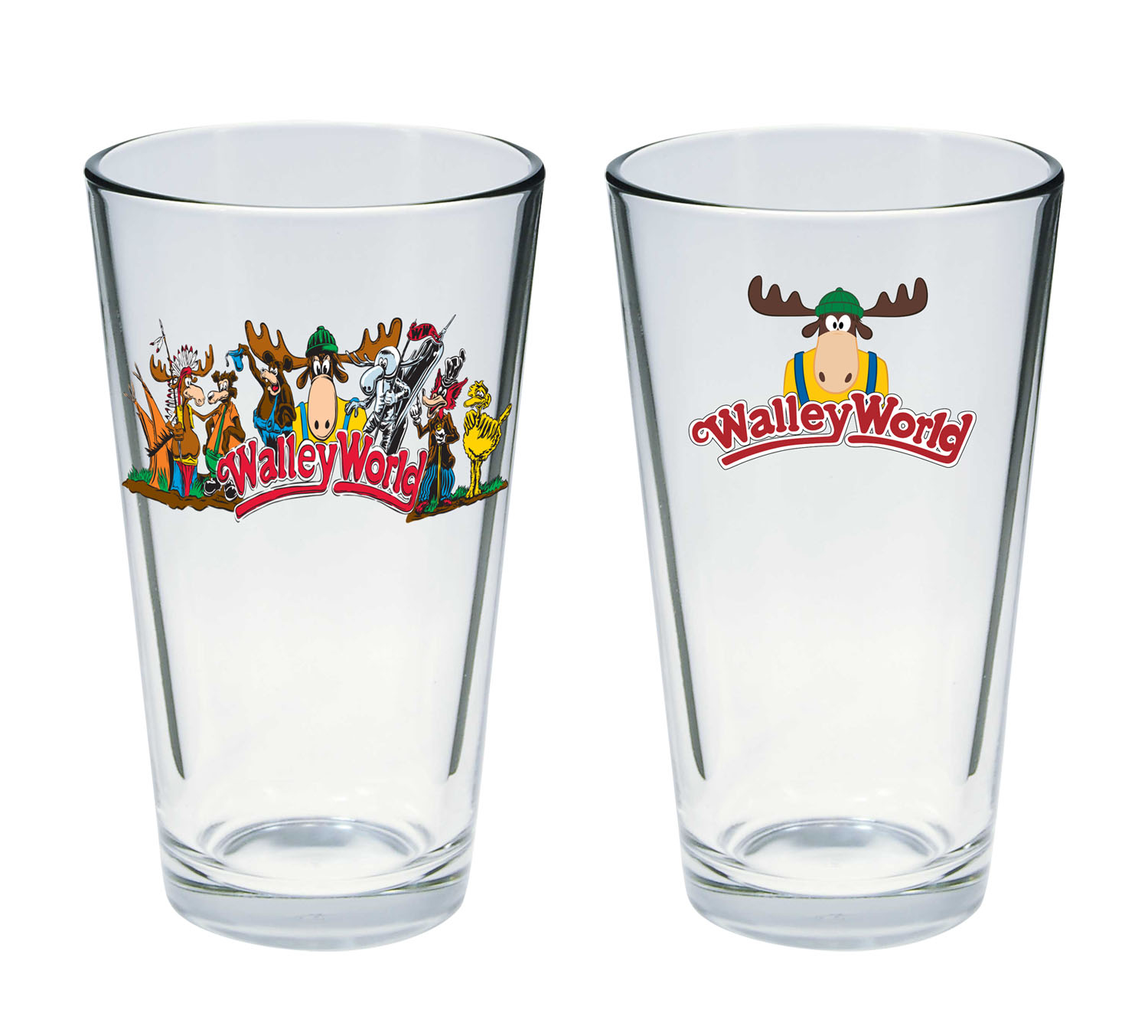 AUG162556  NATL LAMPOONS VACATION WALLEY WORLD PINT GLASS