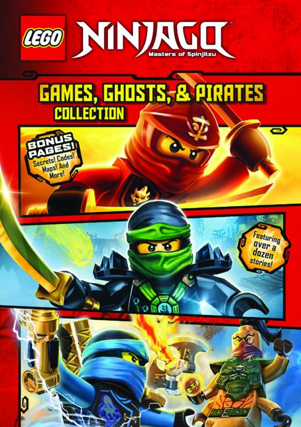 SEP161805 - LEGO NINJAGO GAMES GHOSTS & PIRATES COLLECTION