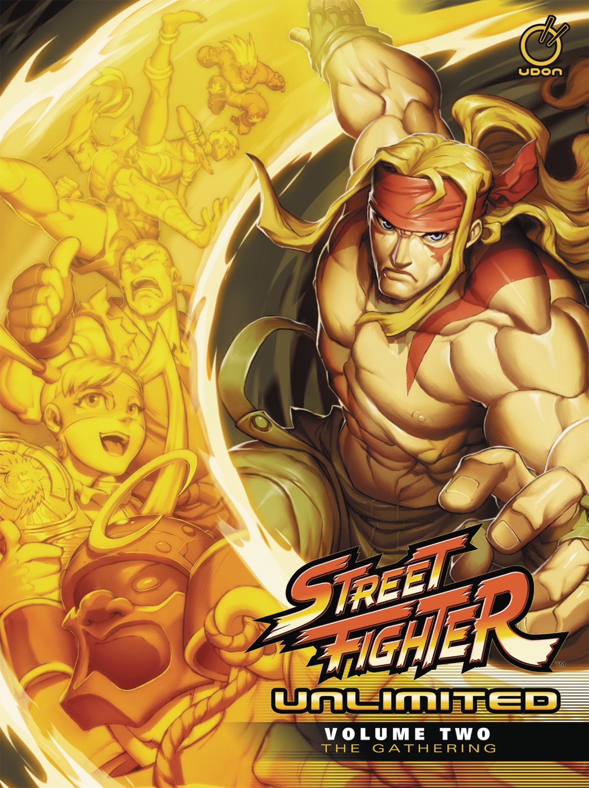 STREET FIGHTER UNLIMITED HC VOL 02 GATHERING