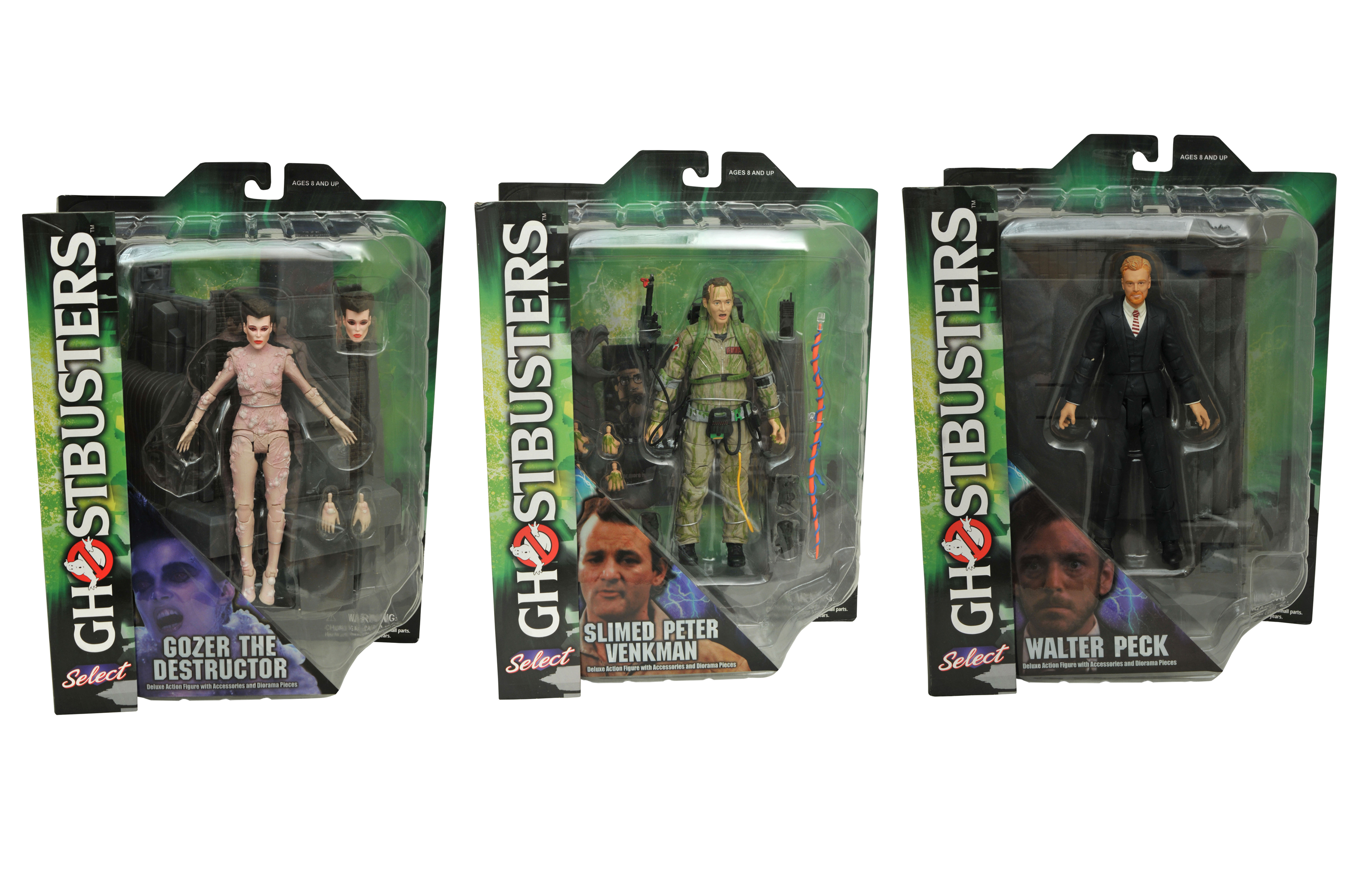 GHOSTBUSTERS SELECT AF SERIES 4 ASST