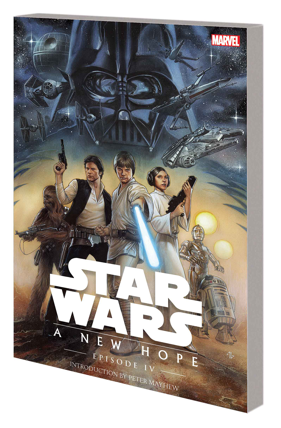 Sep161135 Star Wars Episode Iv Tp New Hope Previews World