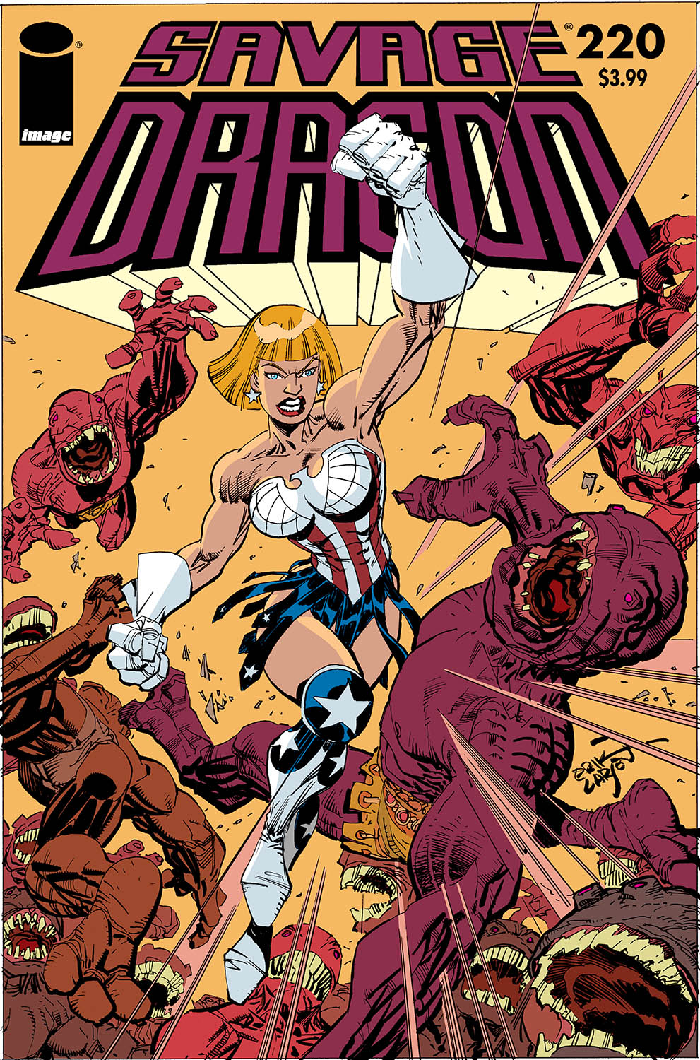 SAVAGE DRAGON #220 (MR)