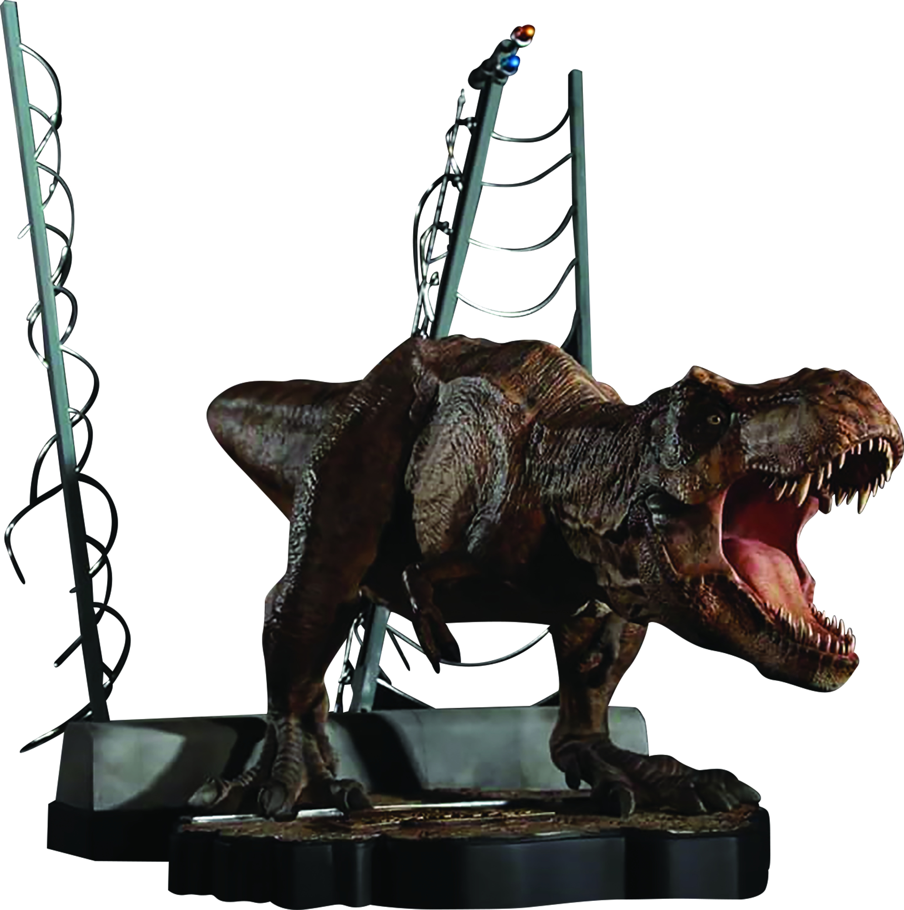 jun169284 chronicle jurassic park breakout t rex statue previews world. Black Bedroom Furniture Sets. Home Design Ideas