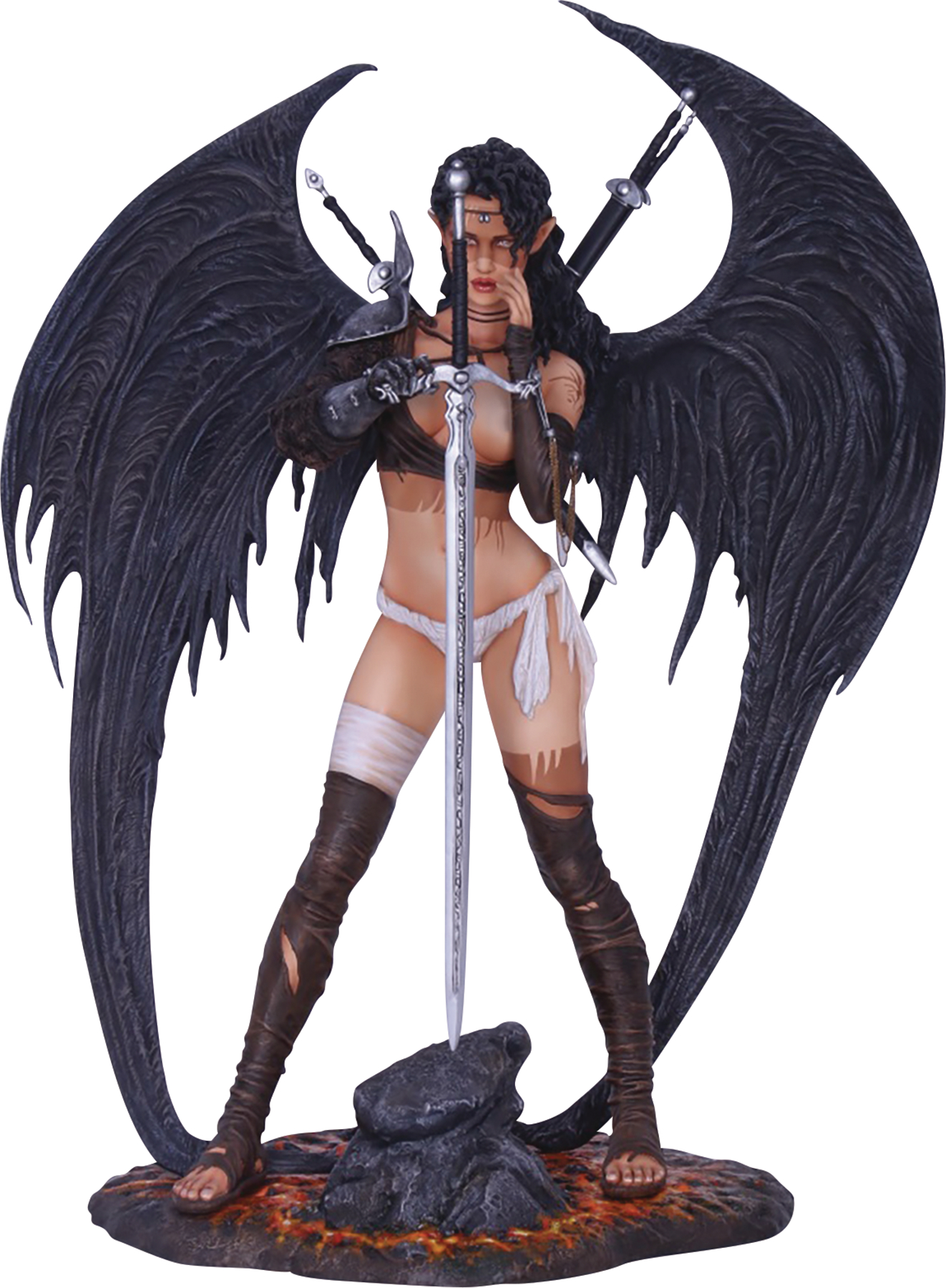 FFG DARK ELF BY LUIS ROYO 1/4 SCALE STATUE