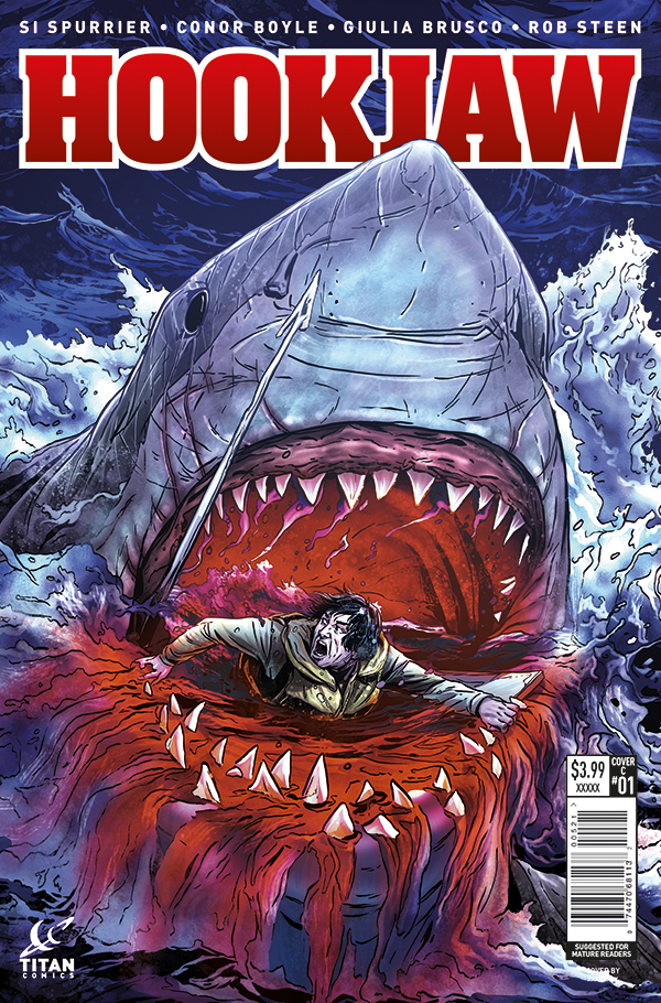 HOOKJAW #1 (OF 5) CVR C LAMING (MR)