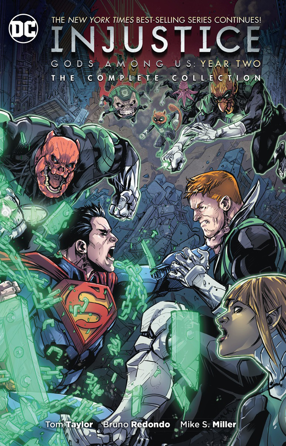 INJUSTICE GODS AMONG US YEAR TWO COMPLETE COLLECTION TP